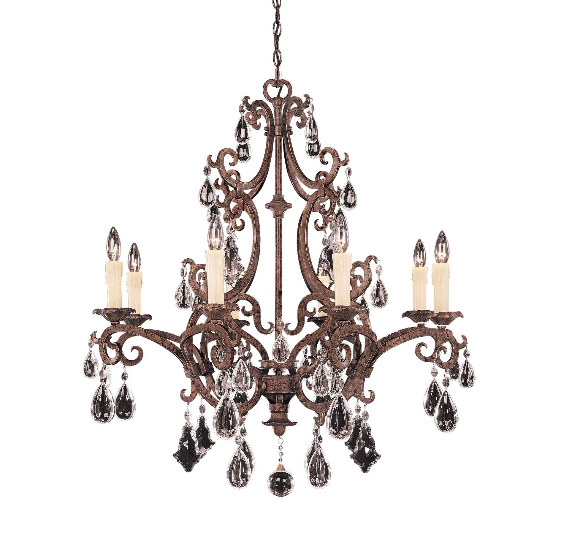 Traditional Crystal Chandeliers In 2019 The Fine Fabric Of Space And Taste Of Crystal Chandeliers – Blog (View 14 of 20)