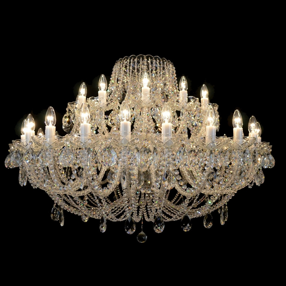 Traditional Crystal Chandeliers Pertaining To Favorite Products — Bohemian Crystal Chandeliers & Lighting From Czech Republic (View 13 of 20)