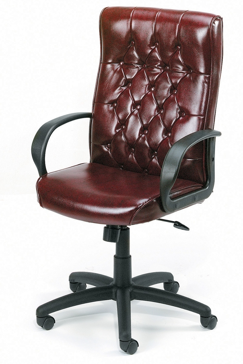 Traditional Executive Office Chairs For Well Liked B8501 By Boss – High Back Traditional Executive Leather Office (View 8 of 20)