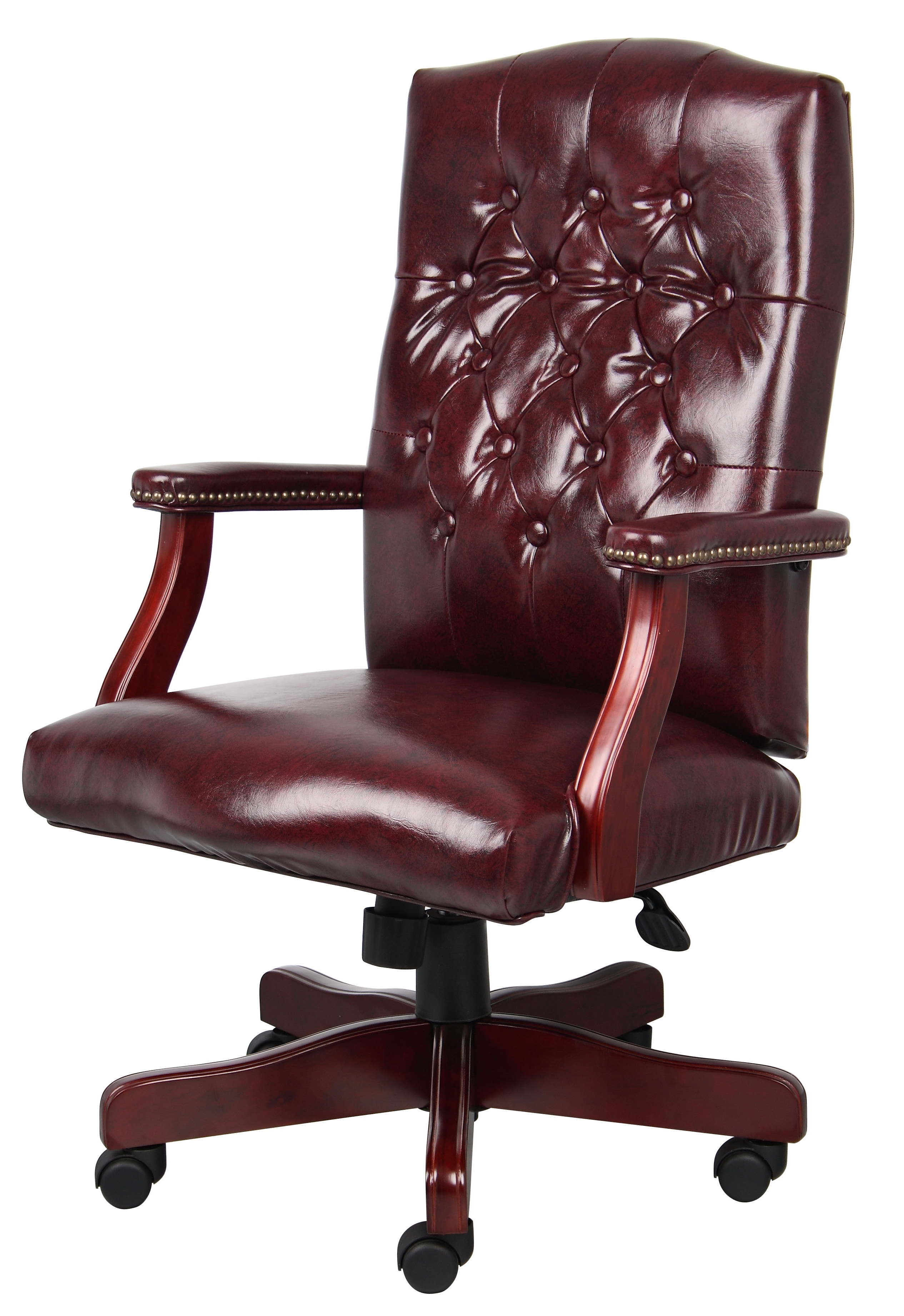 Traditional Executive Office Chairs Regarding Most Up To Date Traditional Mahogany Executive Chair (View 9 of 20)