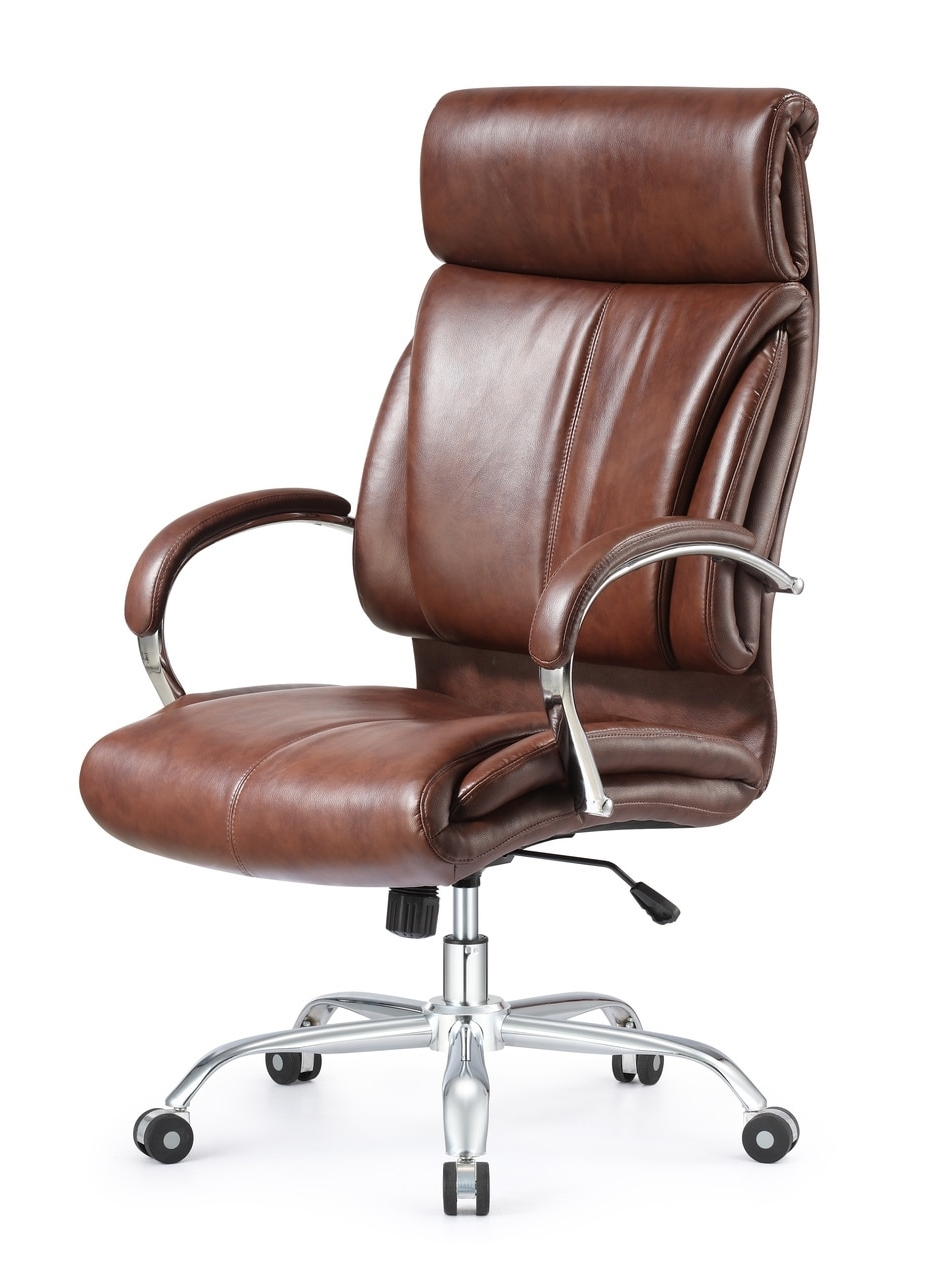 Traditional Executive Office Chairs Within Current Tremendeous Ergonomic Style And Vintage High Back Leather Office (View 15 of 20)