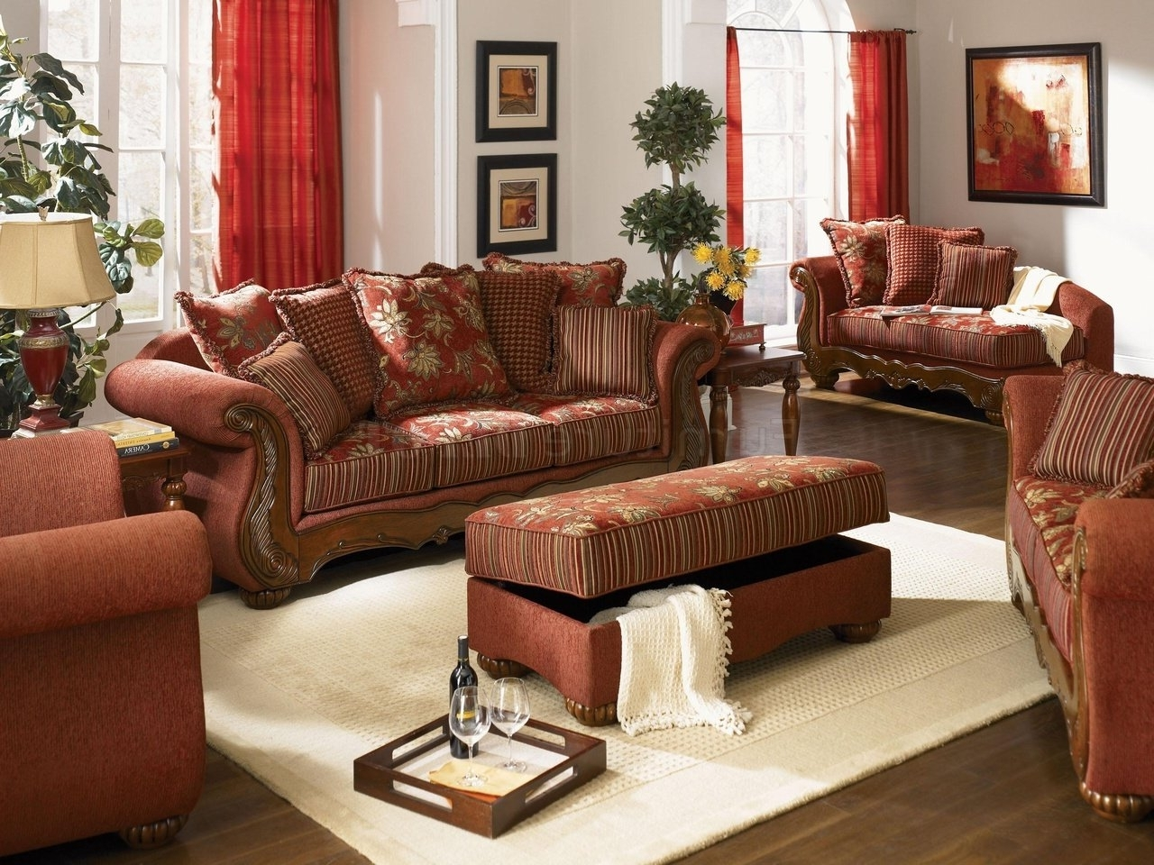 Traditional Fabric Sofas Inside Trendy Modern Design Traditional Living Room Furniture Pretty Inspiration (View 11 of 20)