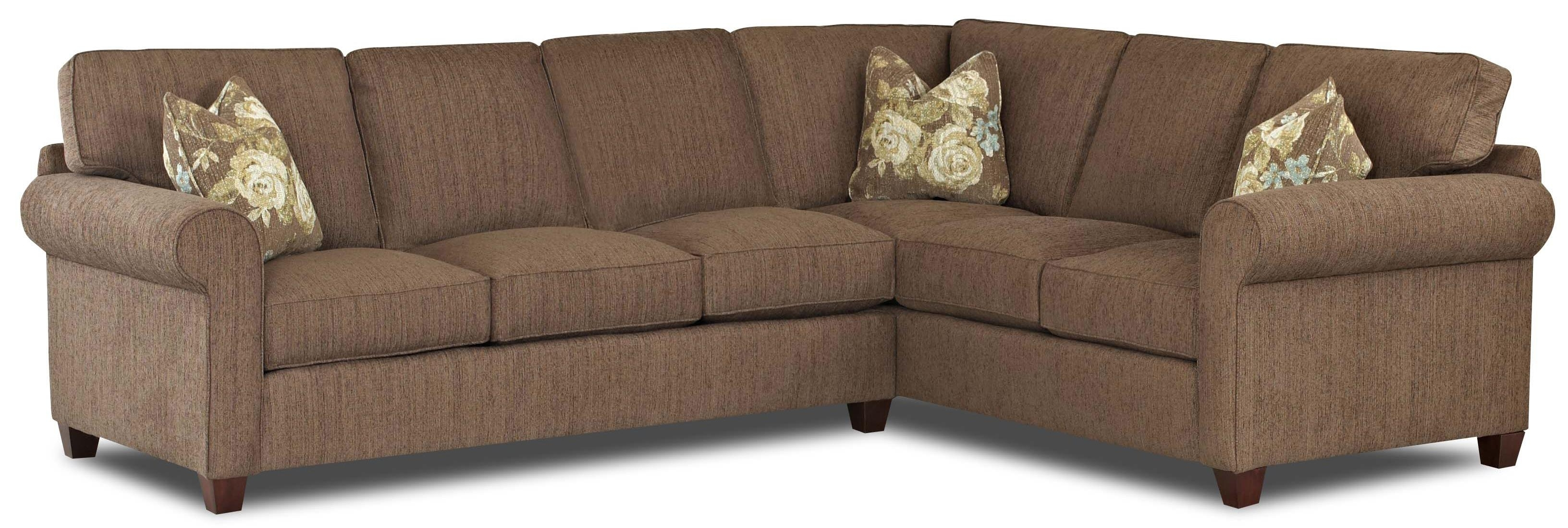 Transitional 2 Piece Sectional Sofa With Weltklaussner (View 17 of 20)