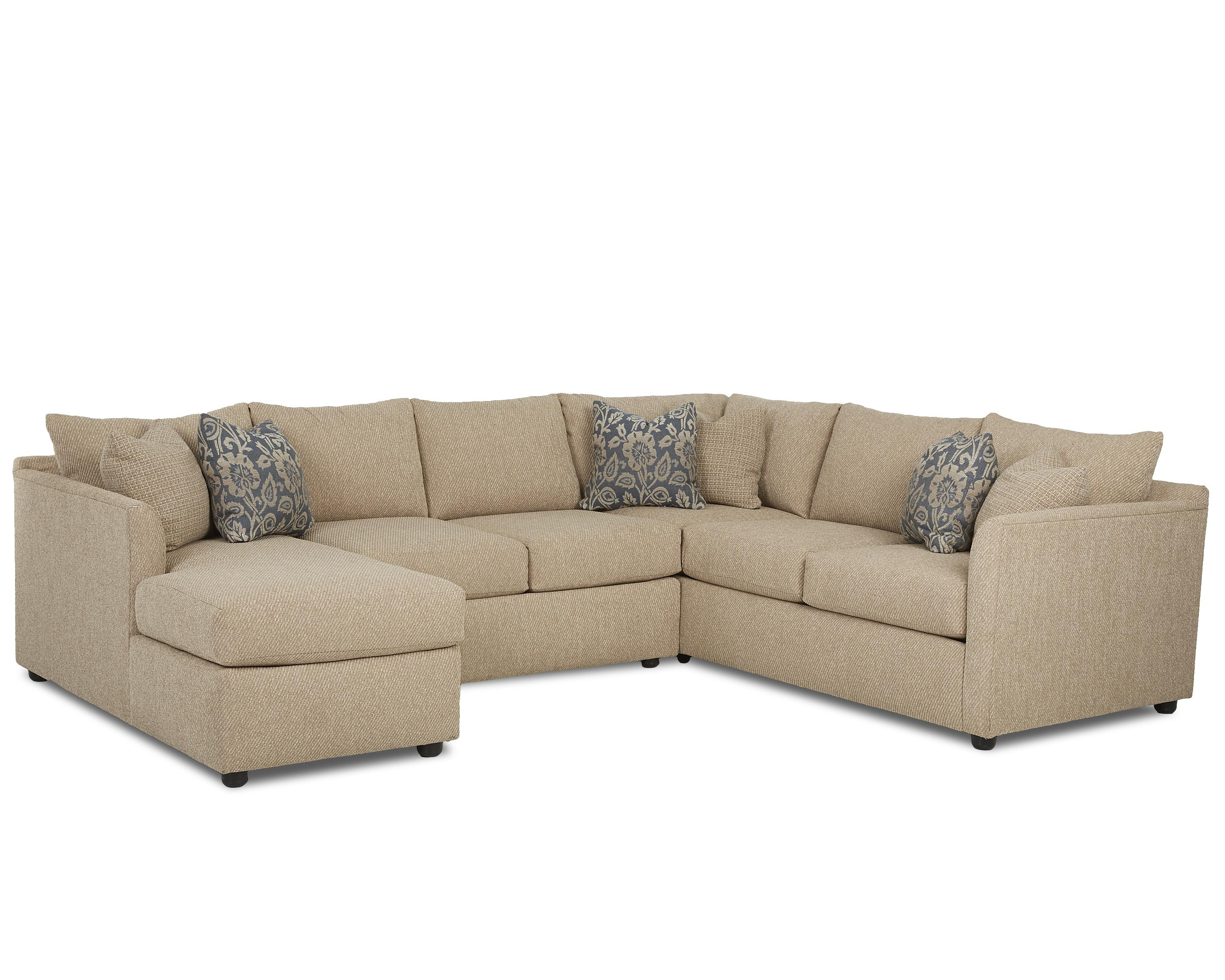 Transitional Sectional Sofa With Chaisetrisha Yearwood Home Pertaining To Most Popular Sectional Sofas In Atlanta (View 17 of 20)
