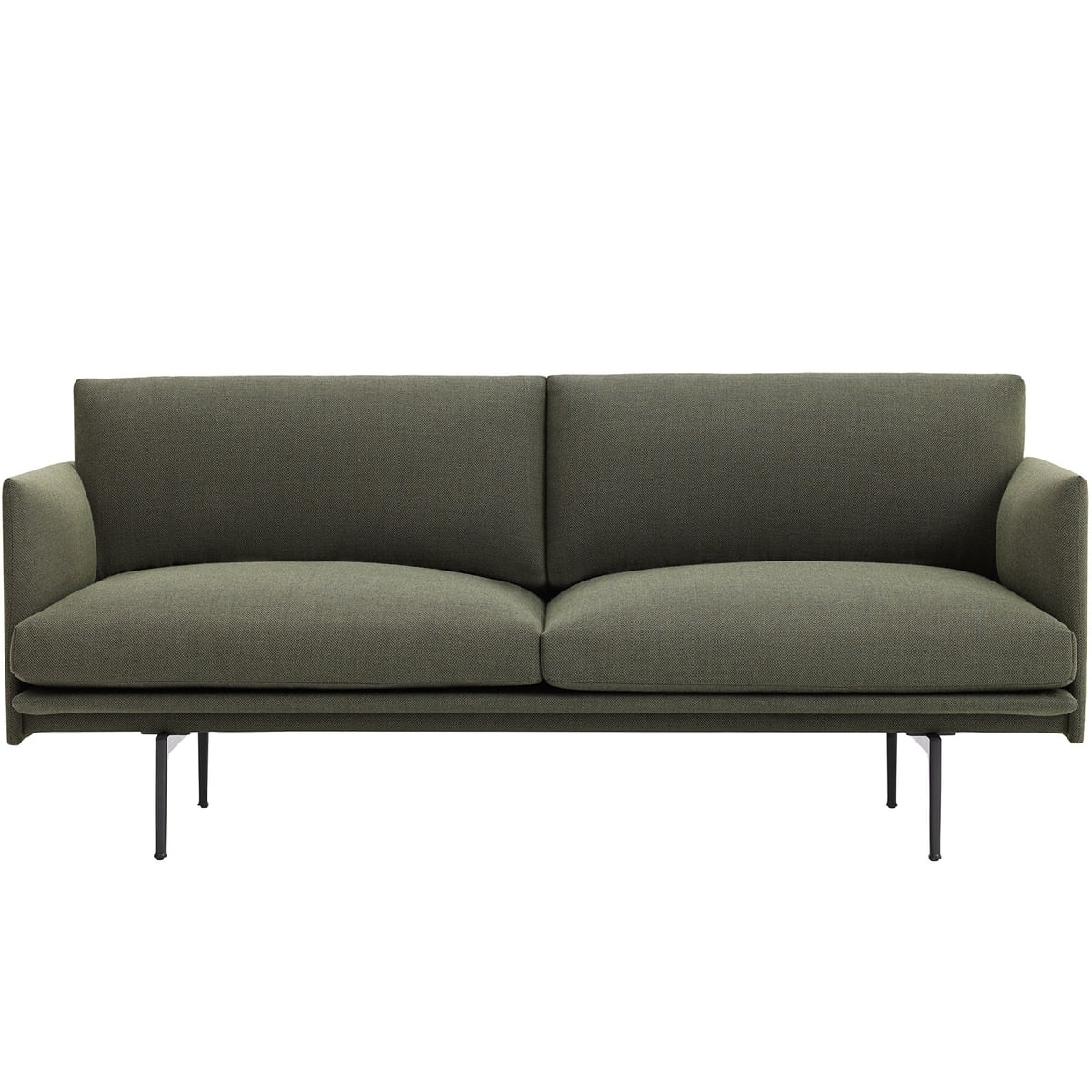 Trendy 2 Seater Sofas Inside Outline Sofa 2 Seatermuuto In The Shop (View 15 of 20)