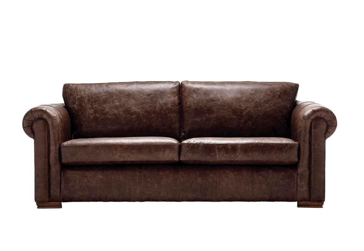 Trendy Aspen Leather Sofas Pertaining To Aspen 3 Seater Leather Sofa – Thomas Lloyd (View 13 of 20)