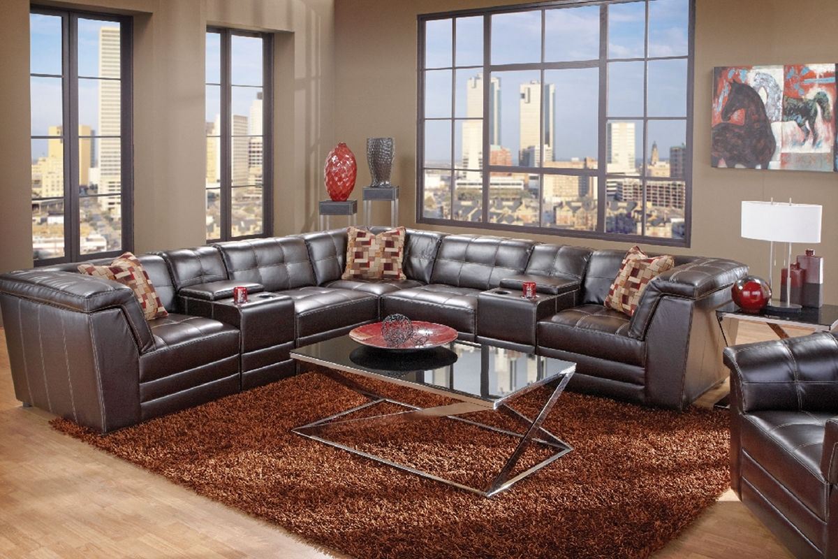 Trendy Bartek 7 Piece Bonded Leather Sectional At Gardner White In Gardner White Sectional Sofas (View 17 of 20)