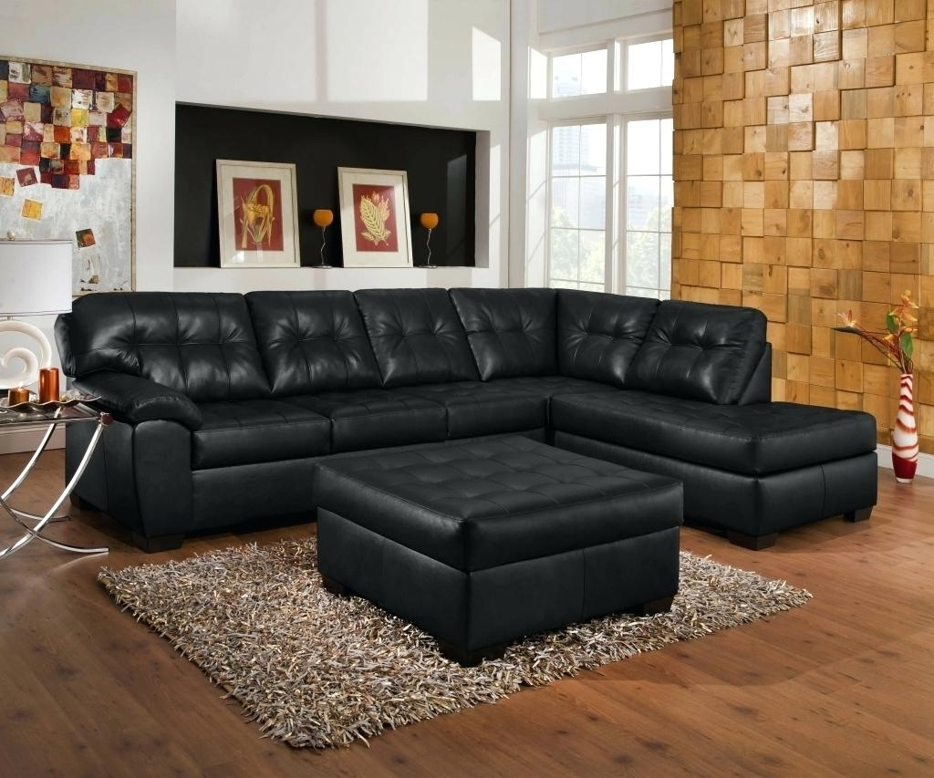 Trendy Black Sectional Couch Leather Sofa With Recliner Recliners For Regarding Red Black Sectional Sofas (View 18 of 20)