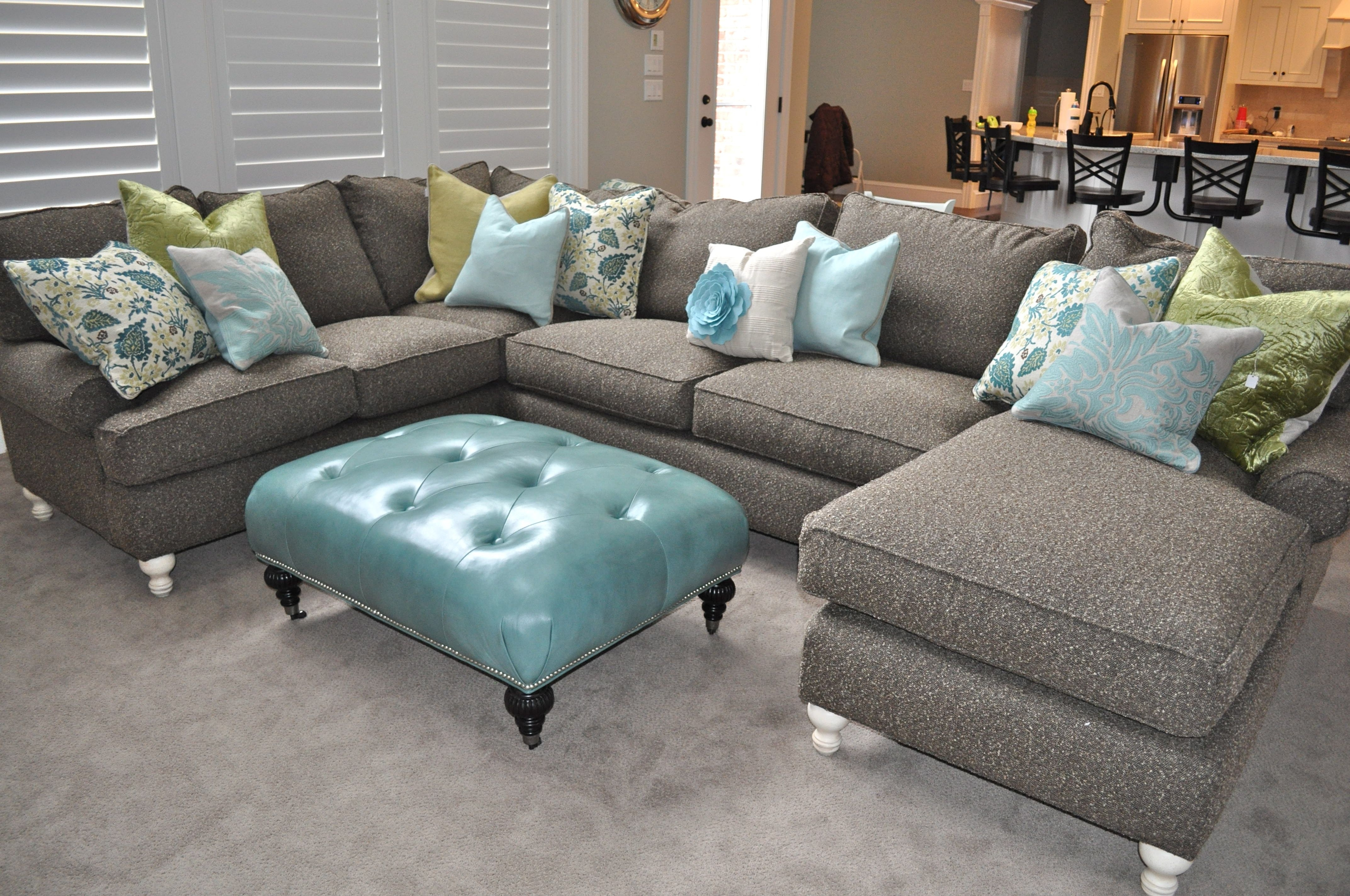 Trendy Blue U Shaped Sectionals Within Cool Great U Sectional Sofas 79 About Remodel Interior Decor Home (View 5 of 20)