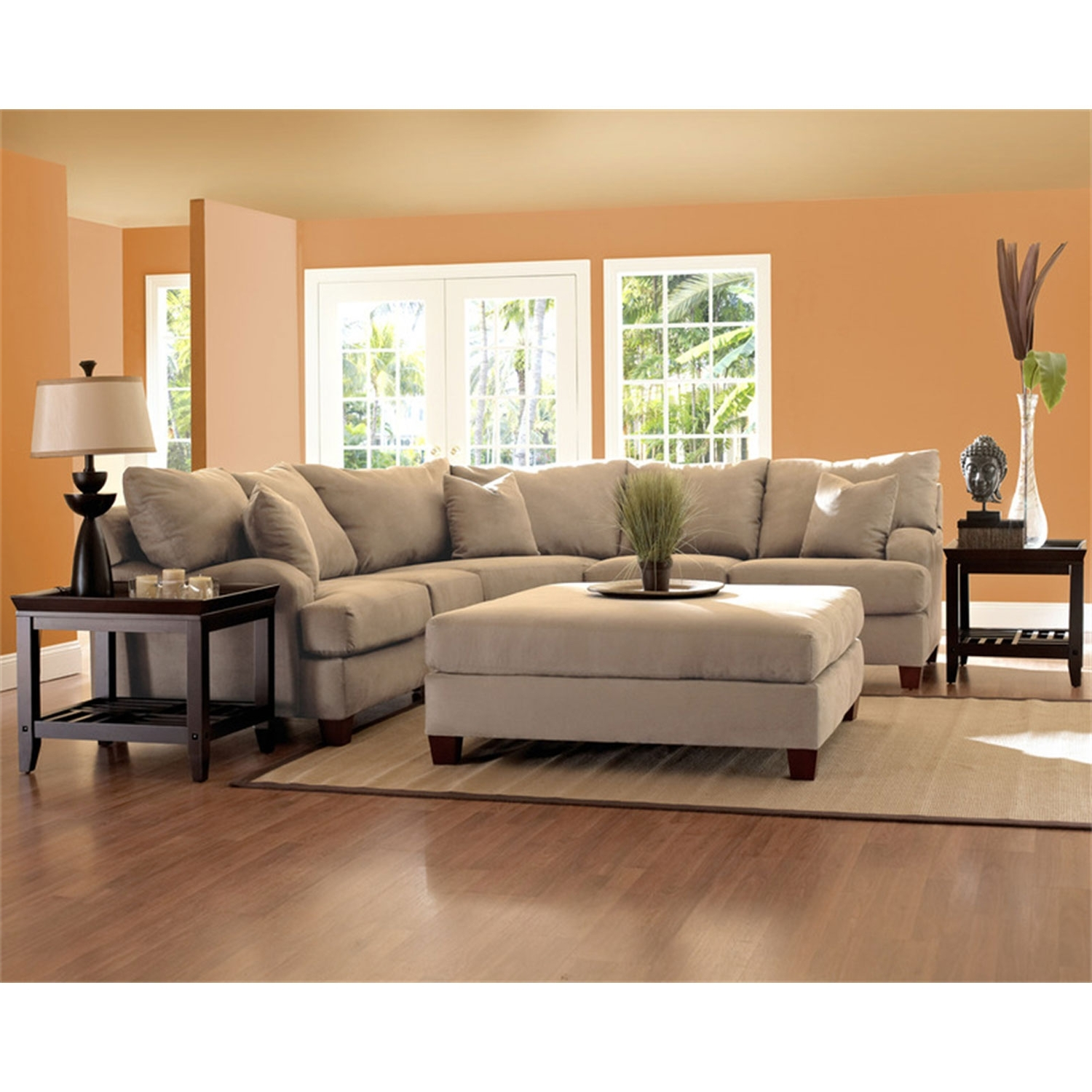 Trendy Canyon Beige Sectional Sectional Sofas Sofas & Sectionals Living With Camel Sectional Sofas (View 19 of 20)