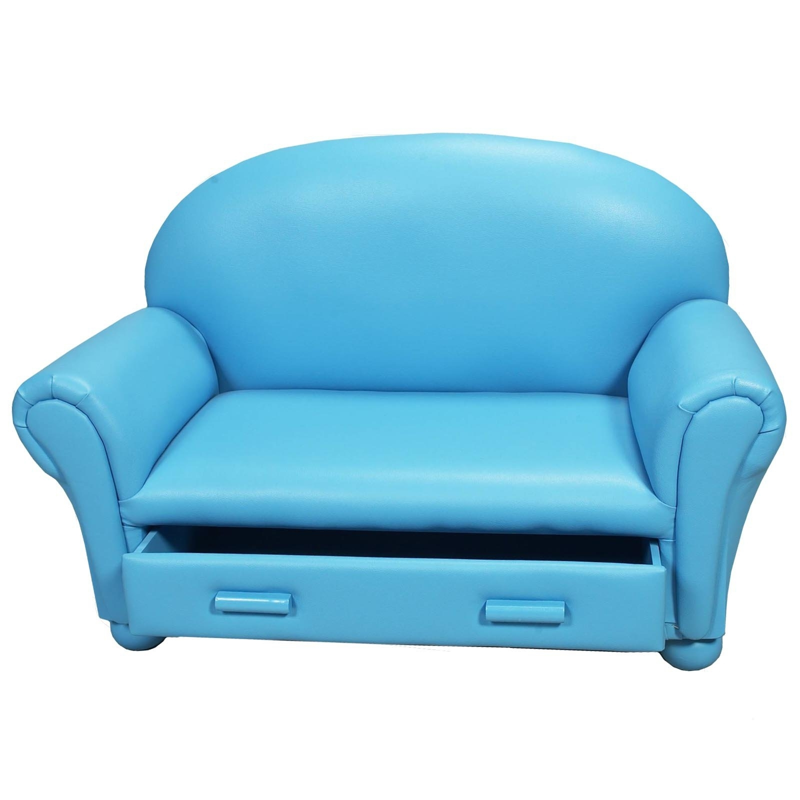 Trendy Childrens Sofas Intended For Childrens Sofa With Storage Drawer – Walmart (View 1 of 20)