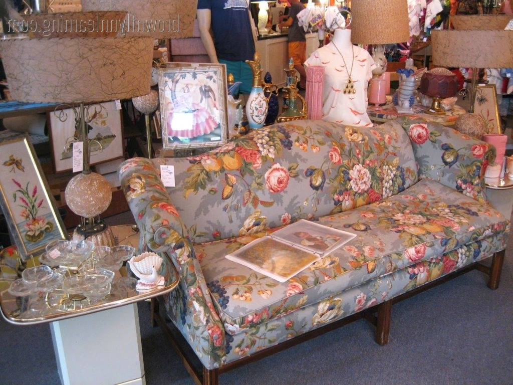 Trendy Chintz Sofas Intended For Chintz Sofa (View 16 of 20)