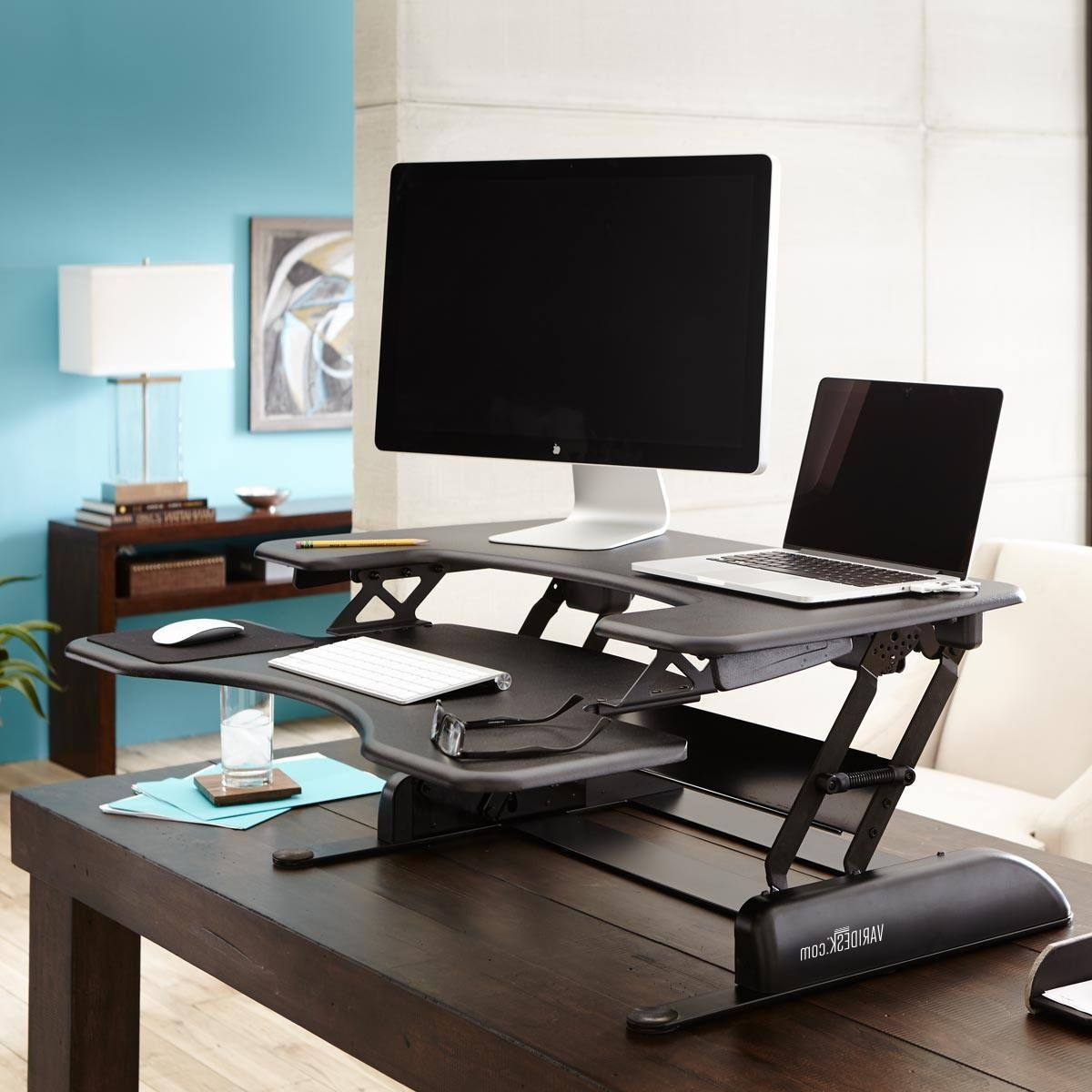Trendy Computer Desks Under $500 For Varidesk Is Expensive – They Worth It? Well, That Depends (View 16 of 20)
