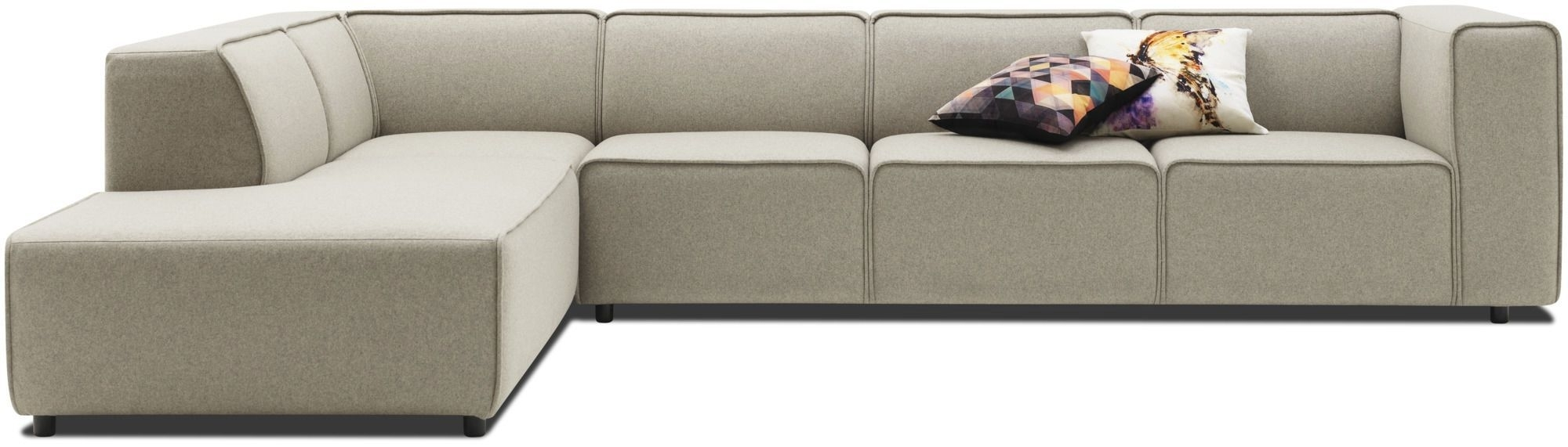 Trendy Corner Sofa / Modular / Contemporary / Leather – Carmoanders With Modular Corner Sofas (View 19 of 20)