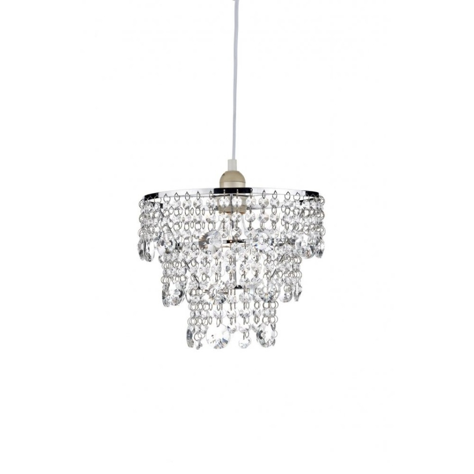 Trendy Decoration Ideas Nice Home Accessory Design Of Small White Glass Throughout Small White Chandeliers (View 6 of 20)