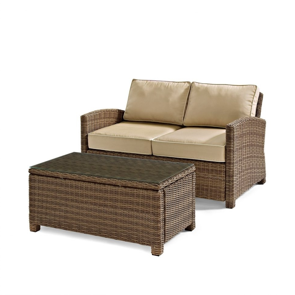 Trendy Economax Sectional Sofas Pertaining To Loveseat : Outdoor Loveseat With Storage Outdoor Sofas & Loveseats (View 19 of 20)