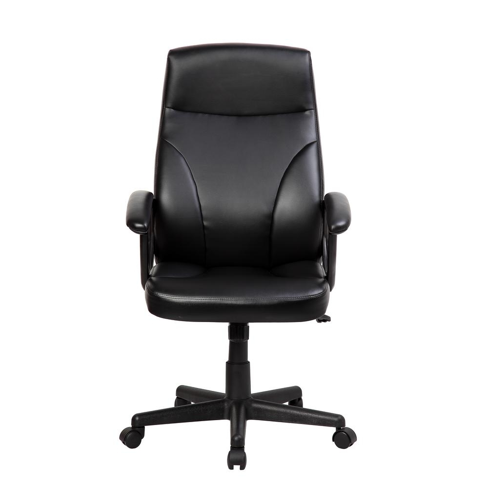 Trendy Executive Desk Chair Without Arms Regarding Techni Sport Black Medium Back Executive Office Chair With Flip Up (View 18 of 20)
