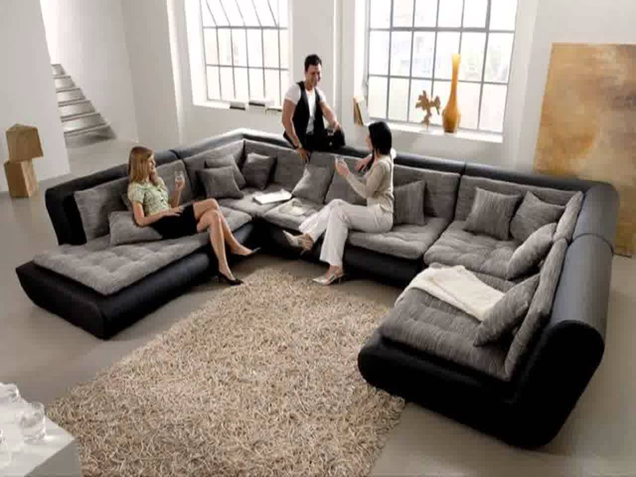 Trendy Extra Large Couches Comfortable Sofa Oversized Deep Couch Throughout Sectional Sofas