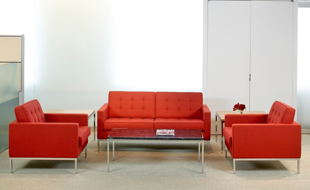 Trendy Florence Knoll Lounge Chair – Hivemodern For Florence Knoll Living Room Sofas (View 10 of 20)