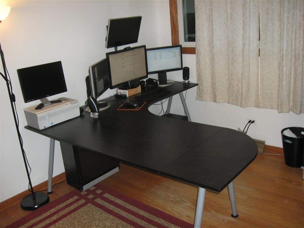 Trendy Furniture: Cozy Ikea Galant Desk Furniture For Your Office Room In Ikea Galant Computer Desks (View 5 of 20)