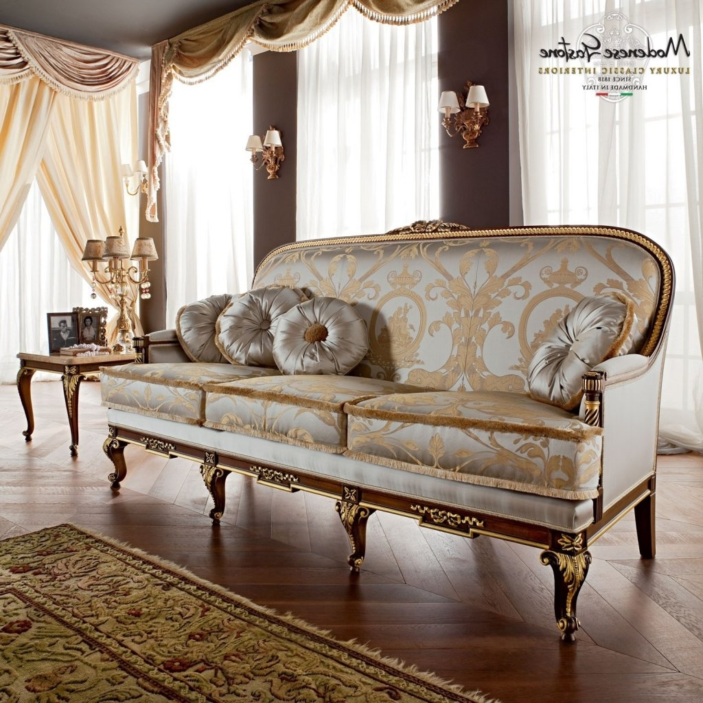 Trendy Luxury Classic Design Sofas Collection Luxury Contemporary Throughout Classic Sofas (View 7 of 20)