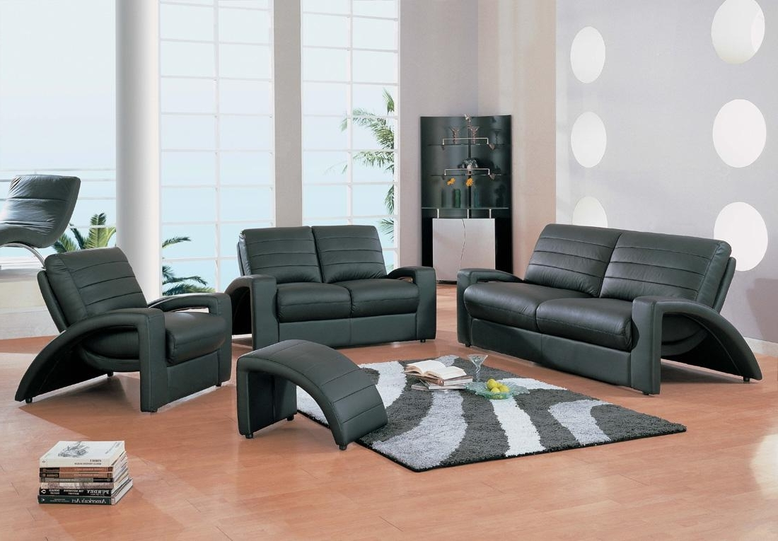 Trendy Modern Living Room Sofa Set Enchanting Decoration Elegant Modern Within Living Room Sofa And Chair Sets (View 12 of 20)