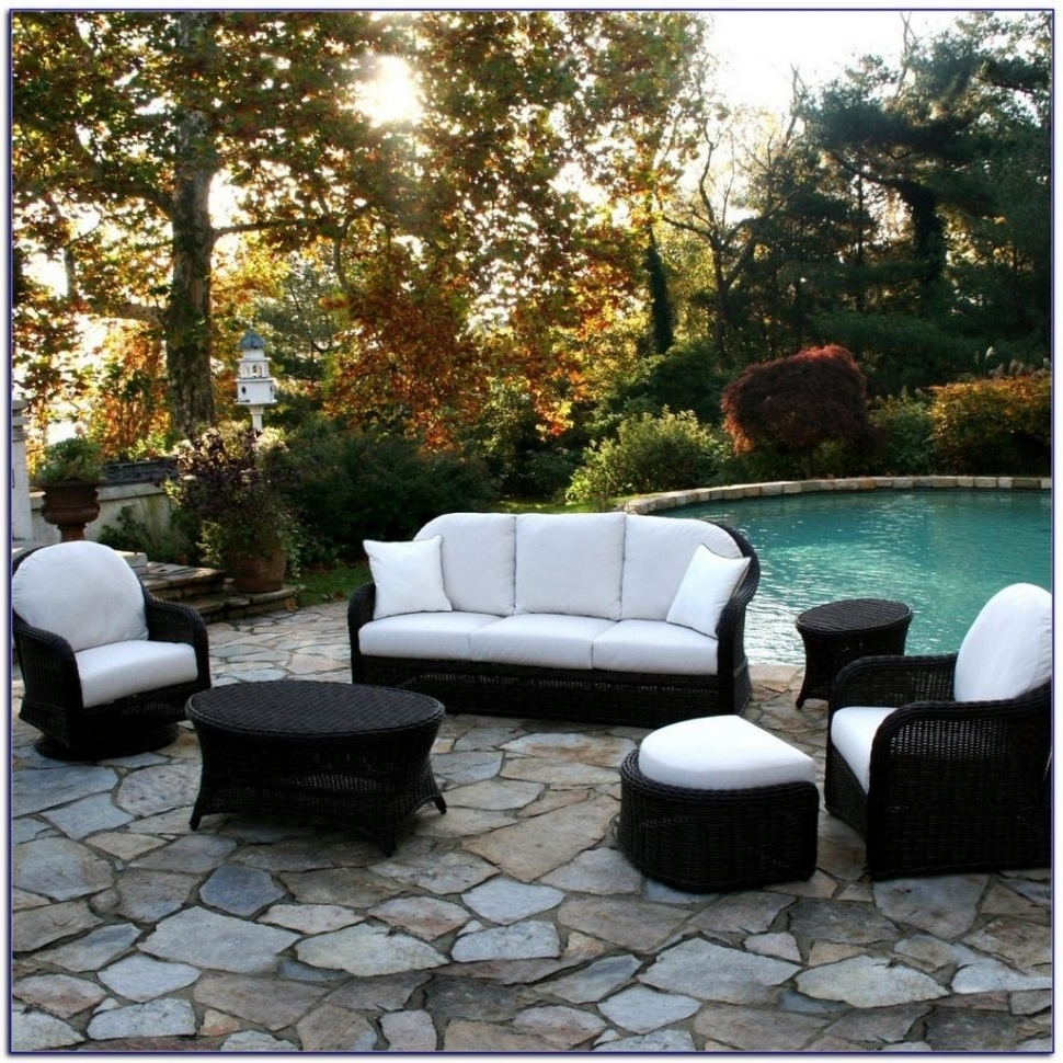 Trendy Naples Fl Sectional Sofas In Patio : Rattan Outdoor Furniture Clearance Outdoor Sectional With (View 17 of 20)
