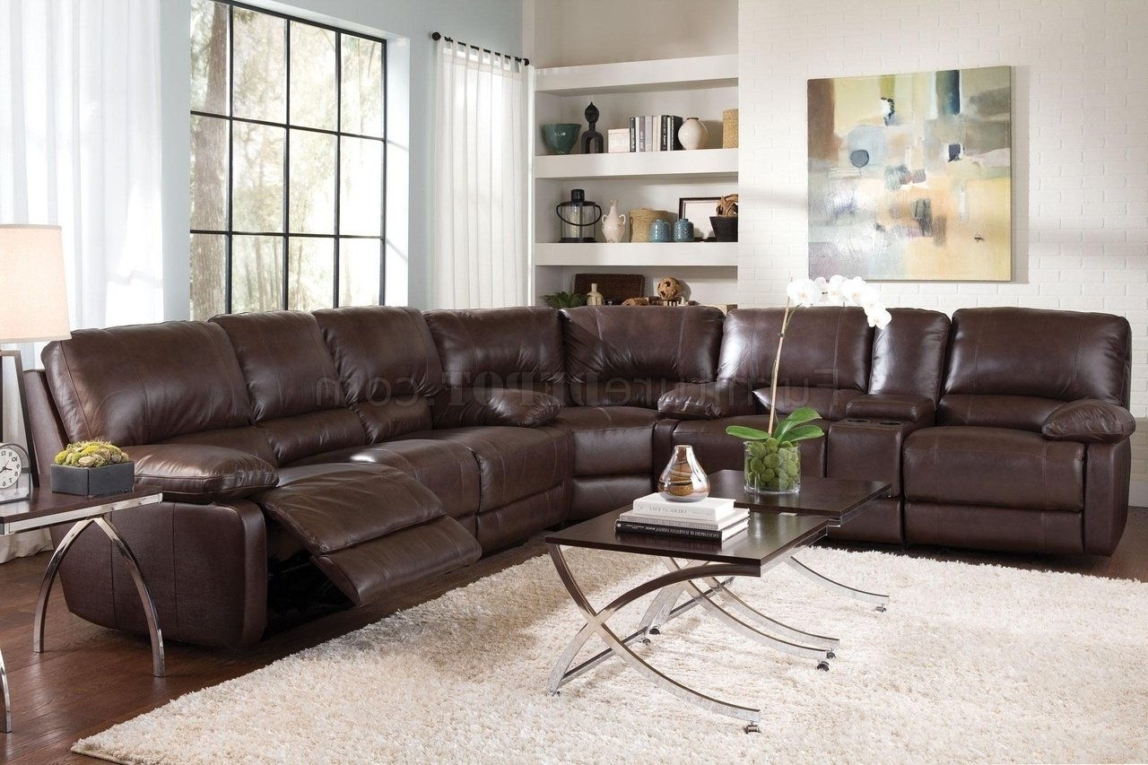 Trendy Nh Sectional Sofas Inside 600021 Geri Sectional Sofa In Top Grain Leather Matchcoaster (View 18 of 20)