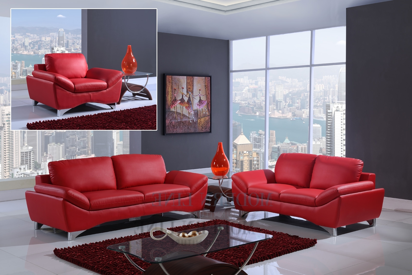 Trendy Red Leather Couches And Loveseats For 17 Red Leather Sofas And  Loveseats Home Design Valencia