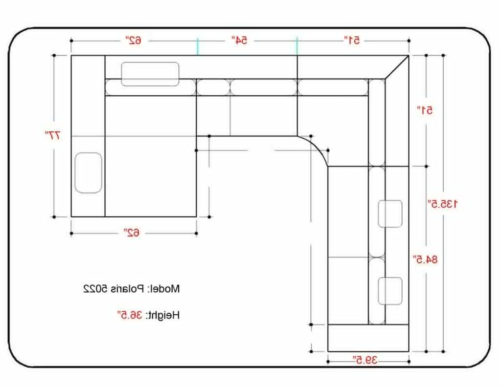 Trendy Sectional Sofa Design: Sectional Sofa Dimensions Standard England Pertaining To Sectional Sofas By Size (View 13 of 20)
