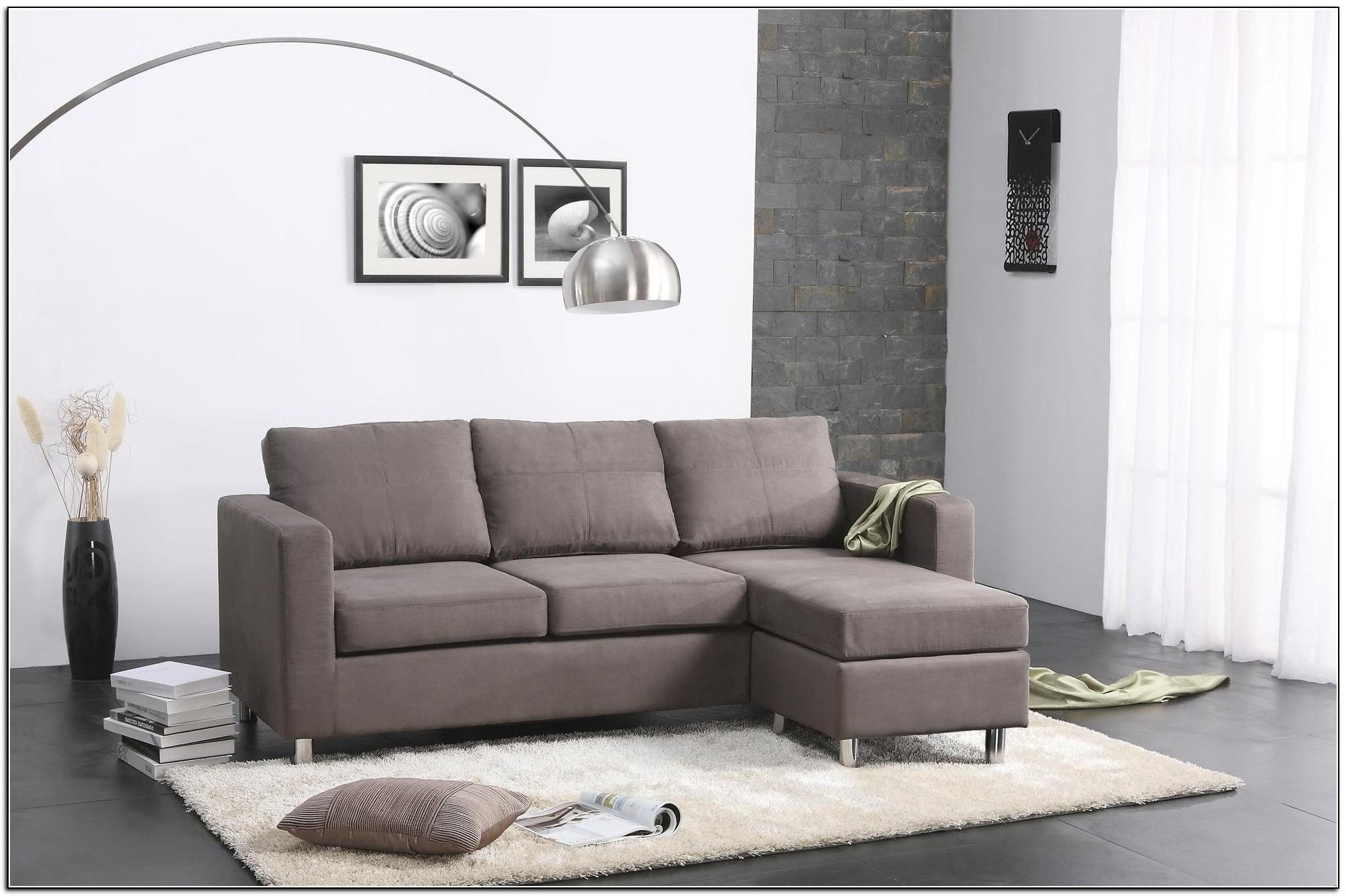 Trendy Sectional Sofa Design: Small Sectional Sofa Cheap Space Couch Pertaining To North Carolina Sectional Sofas (View 9 of 20)