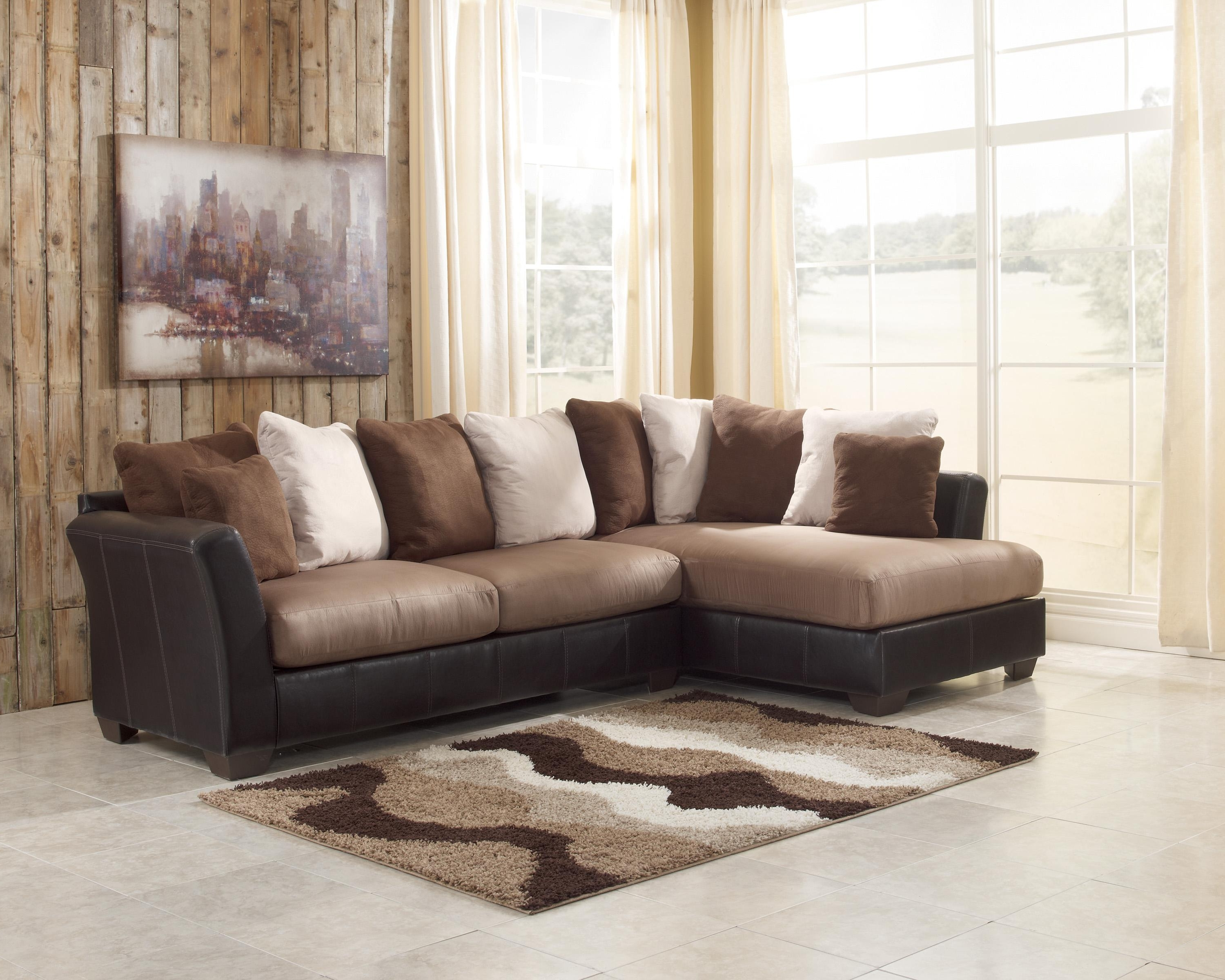 Trendy Sectional Sofas With 2 Chaises Regarding Cool Fancy 2 Piece Sectional Sofa With Chaise 61 For Your Home (View 19 of 20)