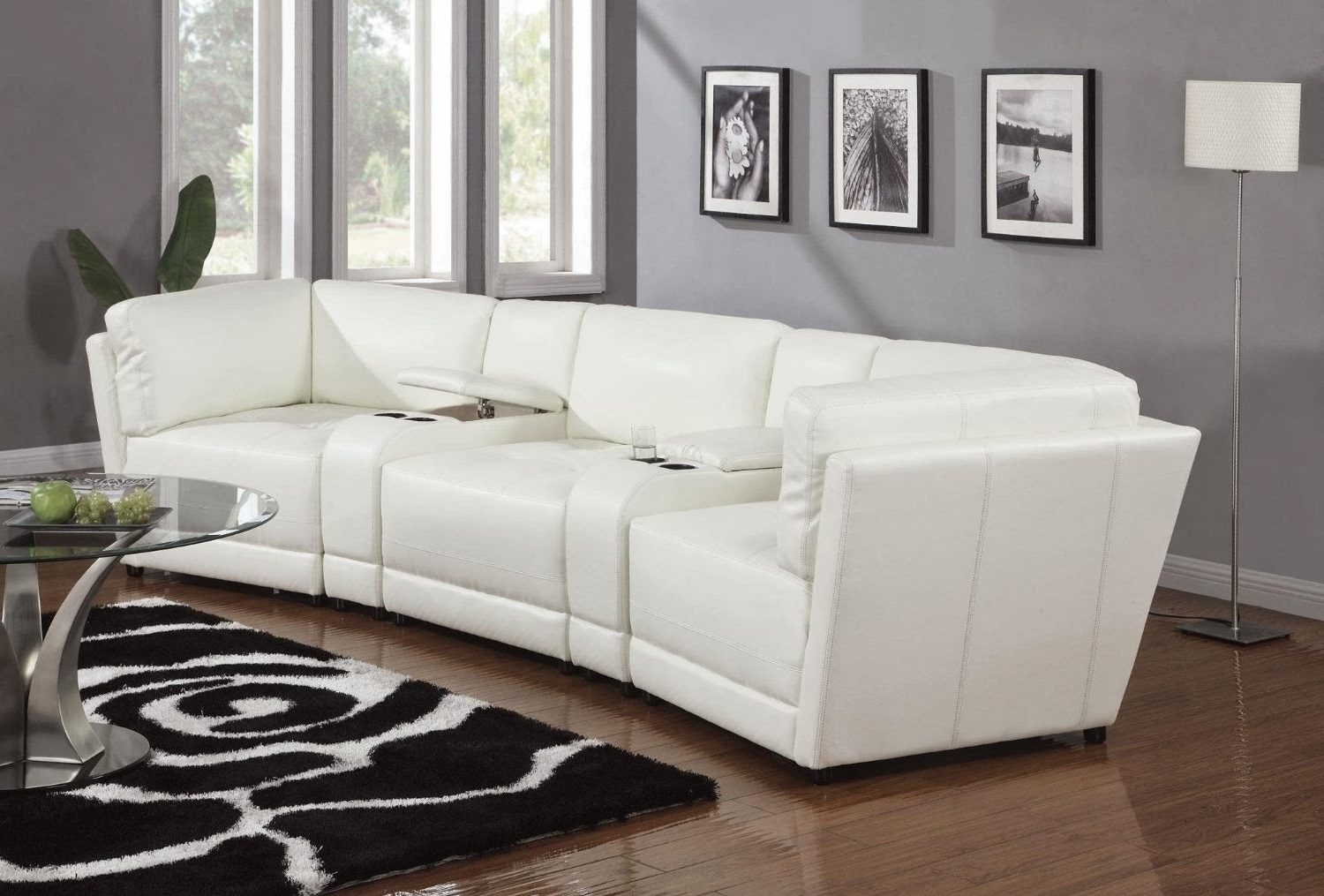Trendy Sleek Sectional Sofas Regarding Gallery Sleek Sectional Sofas – Mediasupload (View 5 of 20)