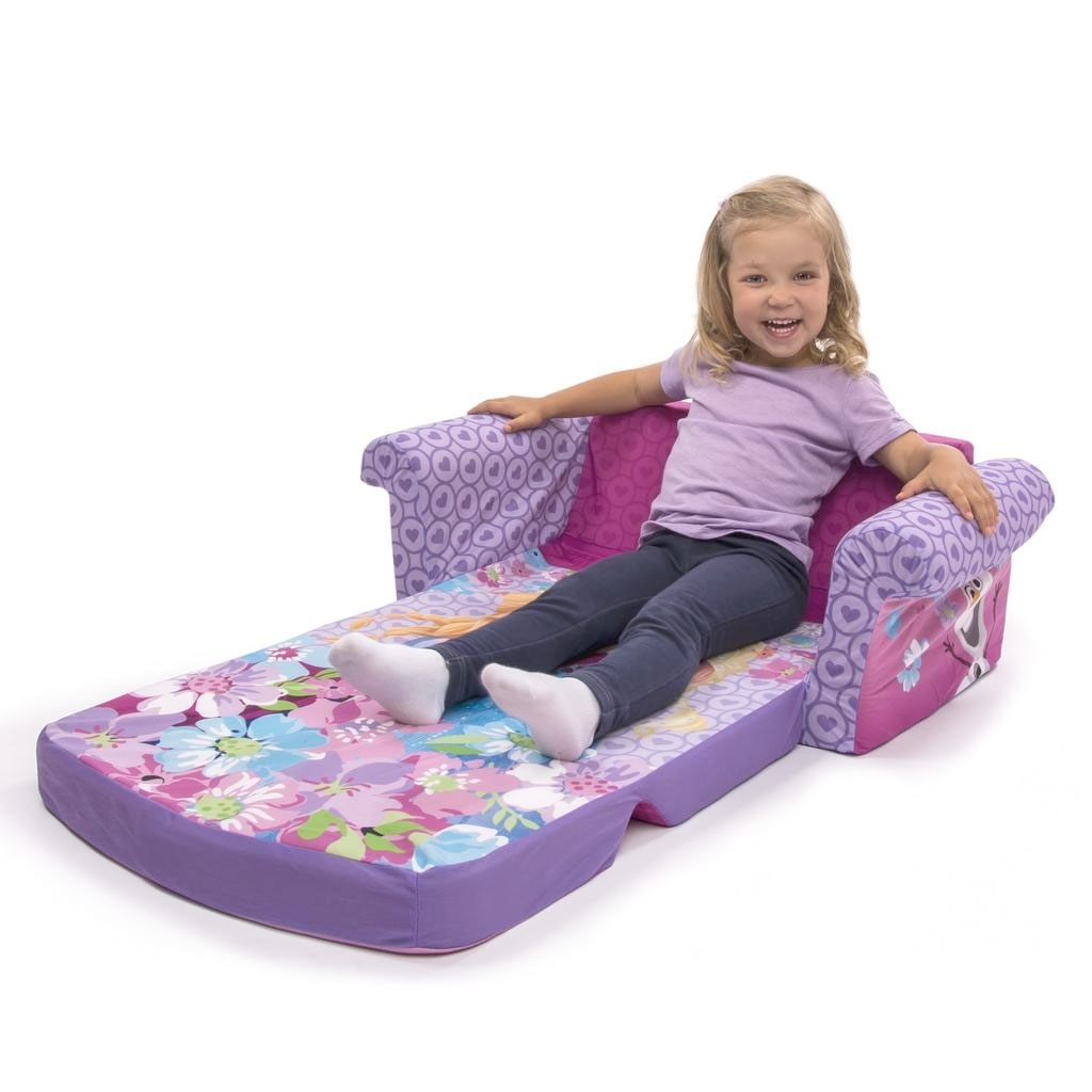 Trendy Spin Master – Marshmallow Furniture Flip Open Sofa Disney Frozen In Disney Sofa Chairs (View 15 of 20)