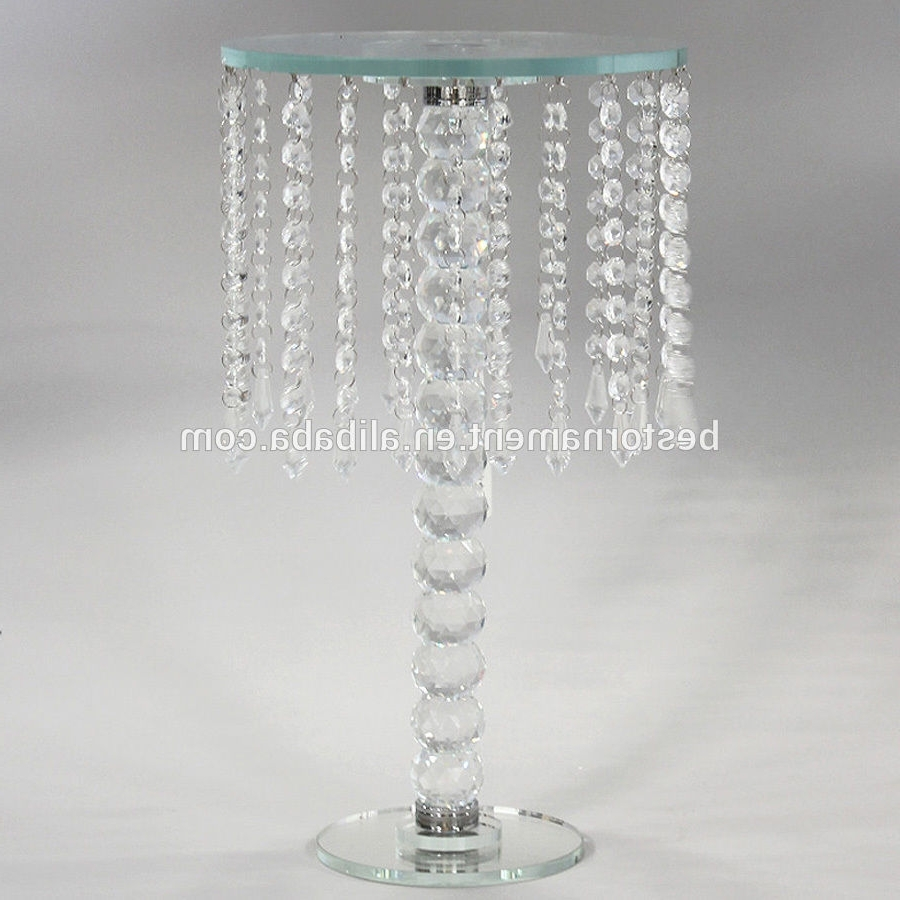Trendy Table Chandeliers In Wedding Crystal Candle Holders Vases Table Chandeliers – Buy Table (View 11 of 20)