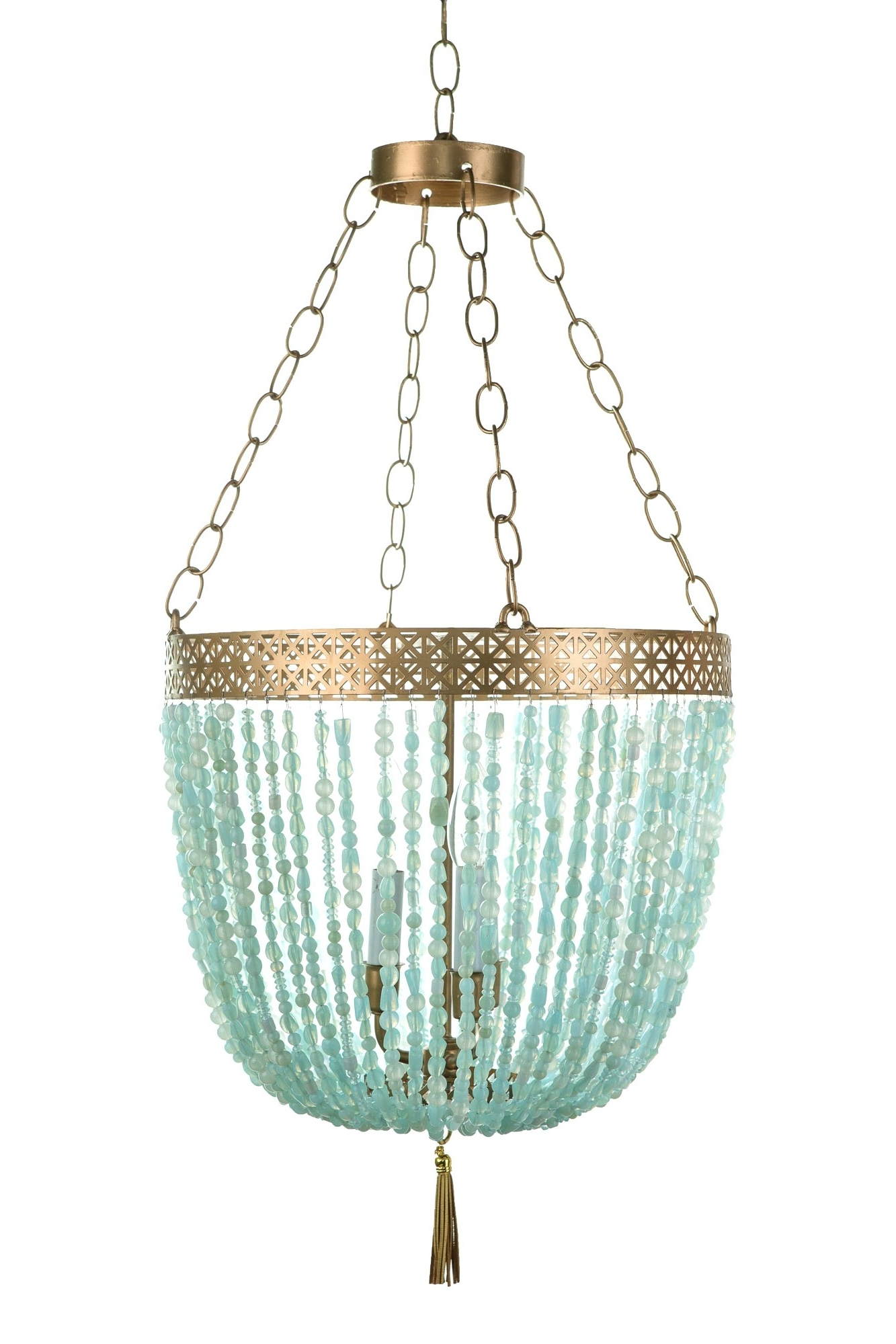 Trendy Turquoise And Gold Chandeliers Throughout Chandeliers Design : Magnificent Stylish Repair Turquoise Chandelier (View 6 of 20)