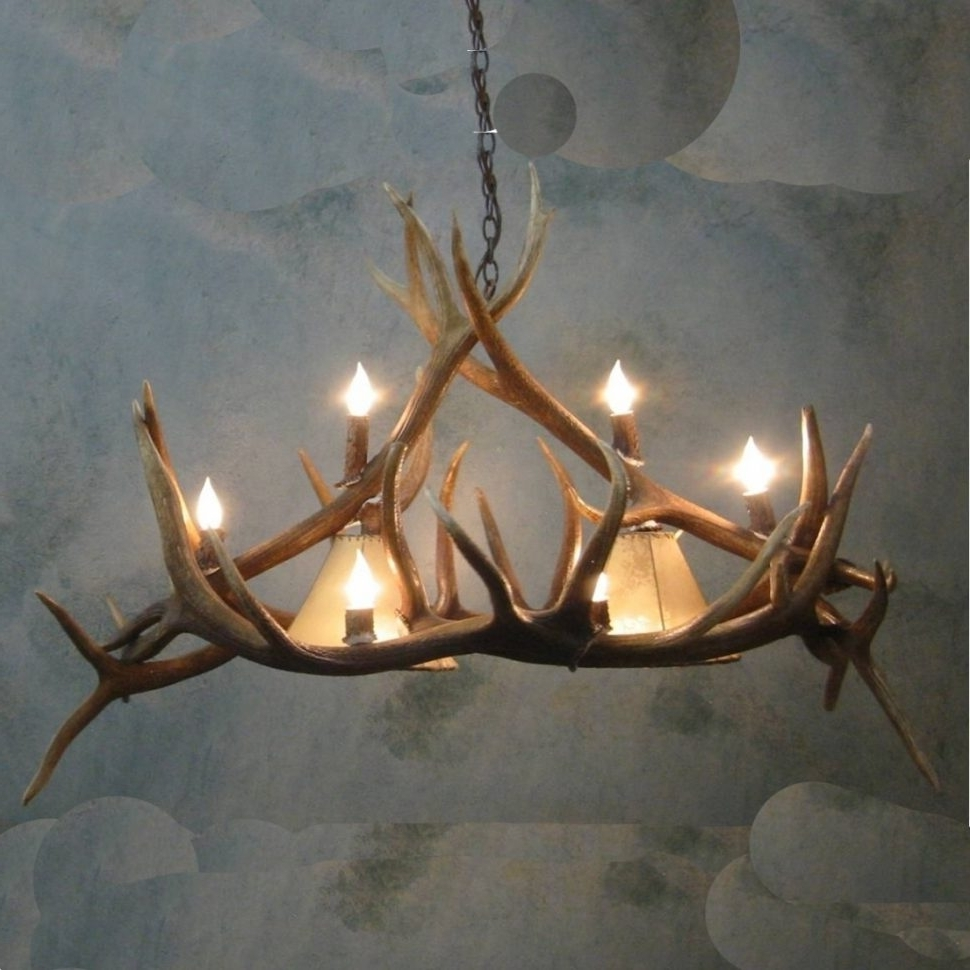 Trendy Turquoise Antler Chandeliers In Chandeliers Design : Fabulous Unique Antler Chandelier Wonderful (View 15 of 20)
