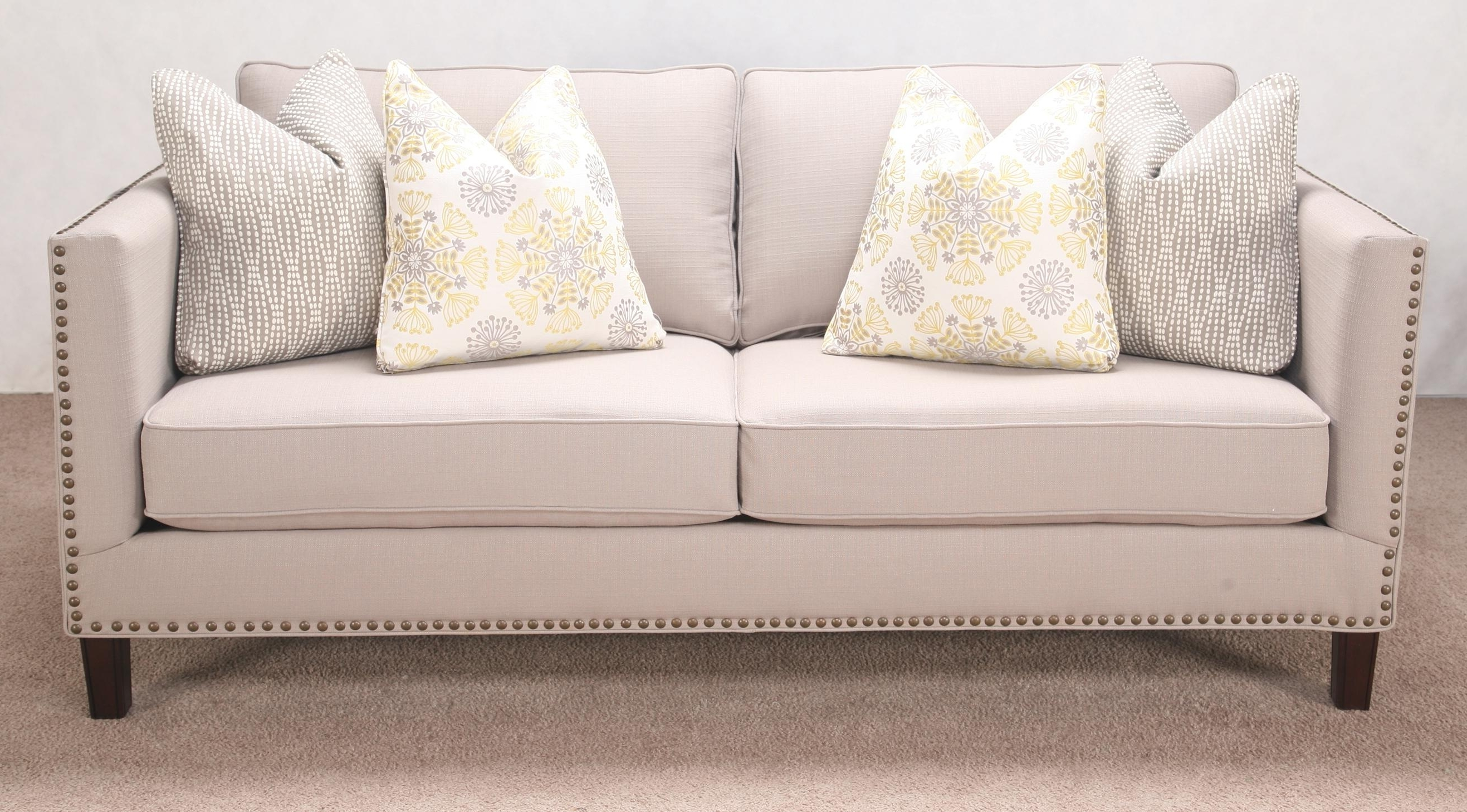 Trendy Unique Sectional Sofa With Nailhead Trim 26 About Remodel Sofa  Intended For Sectional Sofas With