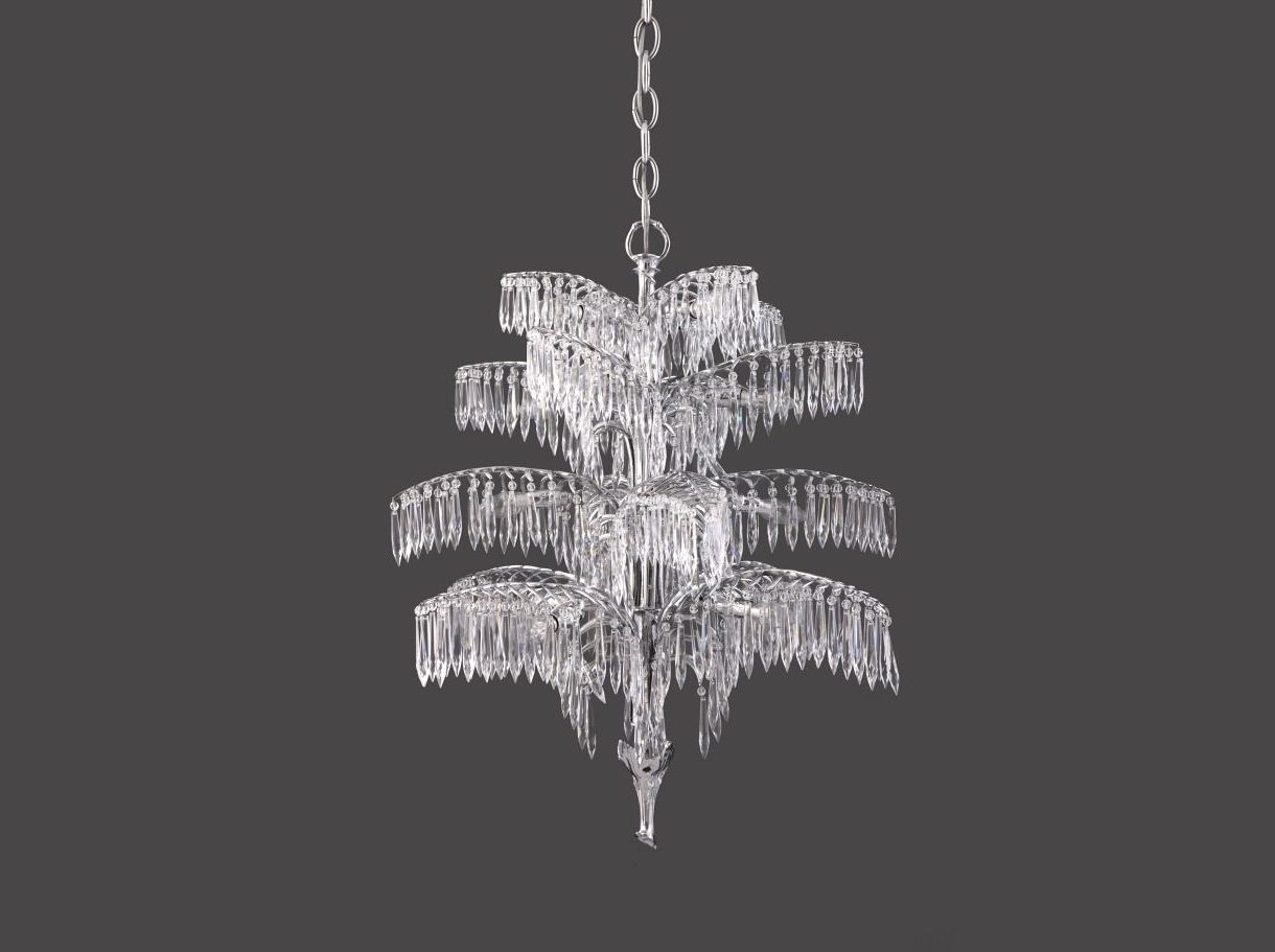 Trendy Vienna Crystal Chandeliers With Regard To Traditional Chandelier / Crystal / Brass / Handmade – Palme  (View 11 of 20)