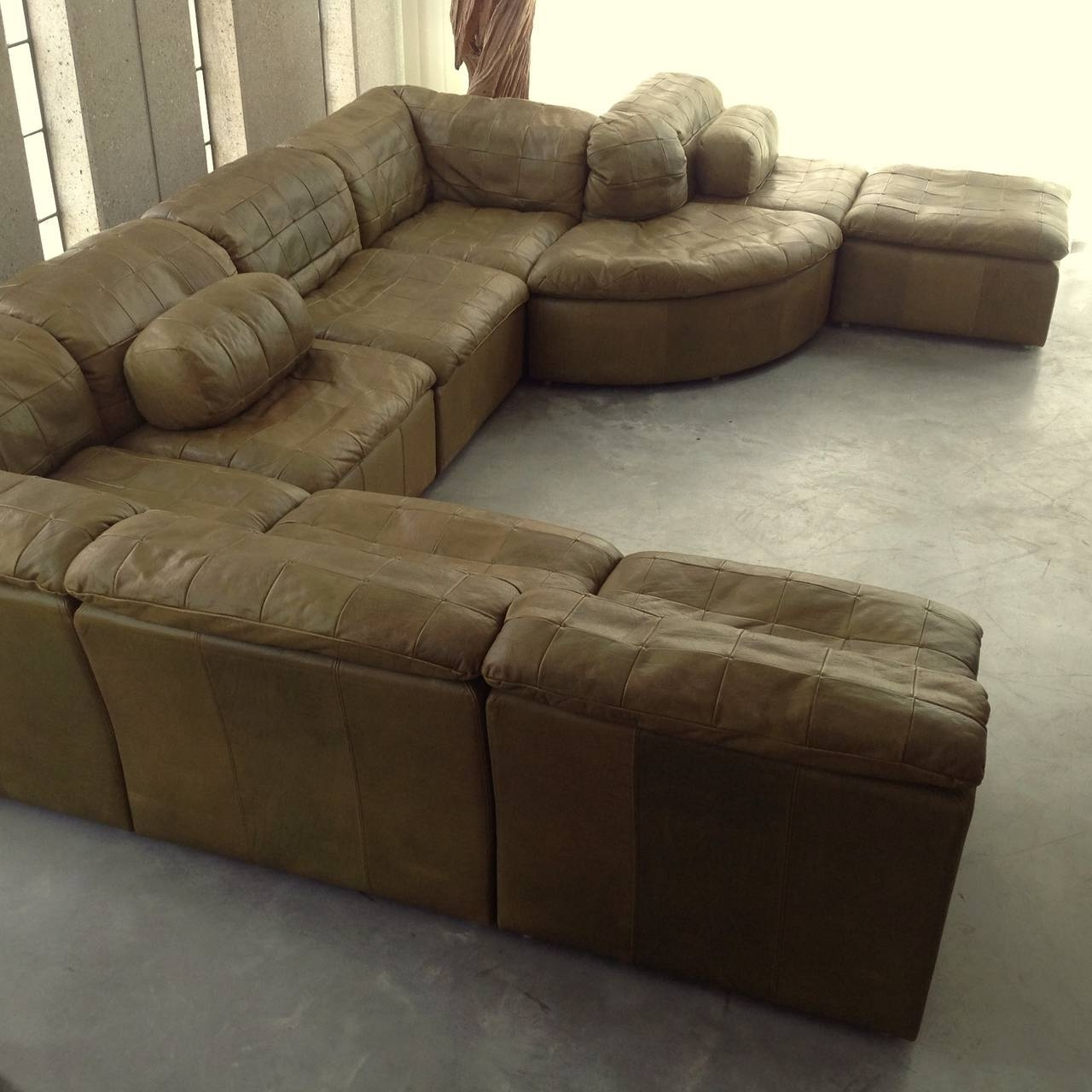 Tucson Sectional Sofas Intended For Current Trend Olive Green Sectional Sofa 57 In Sectional Sofas Tucson With (View 13 of 20)