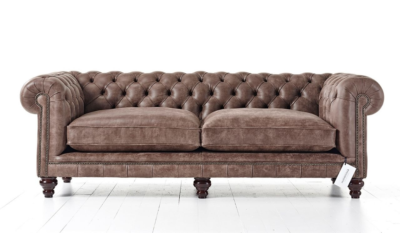 Tufted Couch Throughout Vintage Chesterfield Sofas (View 11 of 20)