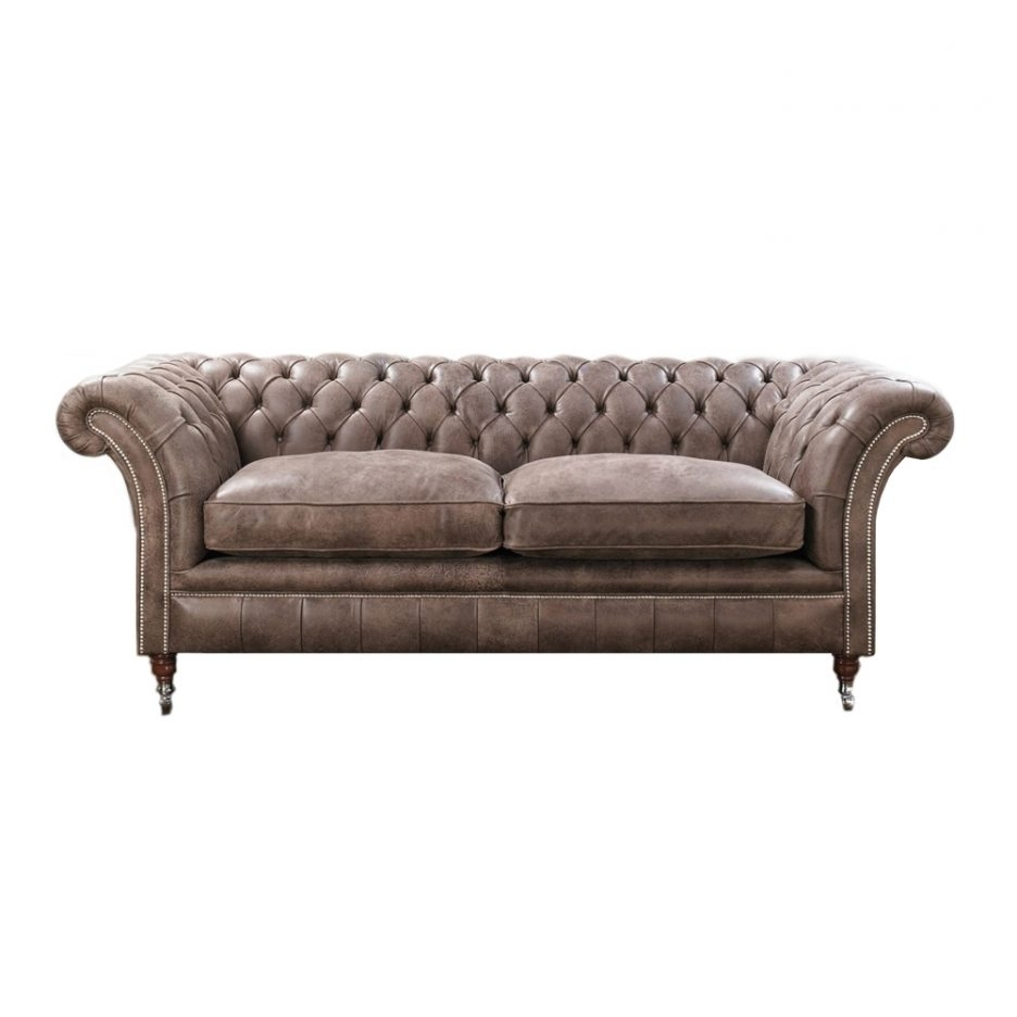 Tufted Leather Chesterfield Sofas Regarding Preferred Decorating. Chesterfield Sofa Design Ideas (View 13 of 20)