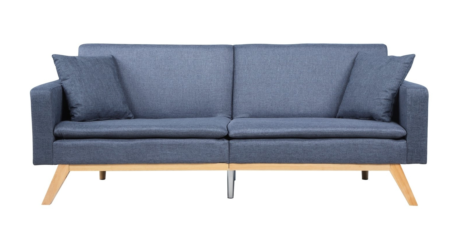 Tufted Linen Sofas Throughout Favorite Madison Home Usa Modern Tufted Linen Splitback Recliner Sofa (View 14 of 20)