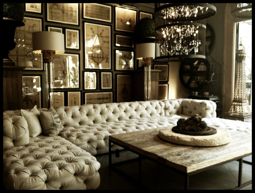 Tufted Sectional Sofas Inside Famous When Classic Meets Modernity : Tufted Upholstered Sectional Sofa (View 14 of 20)