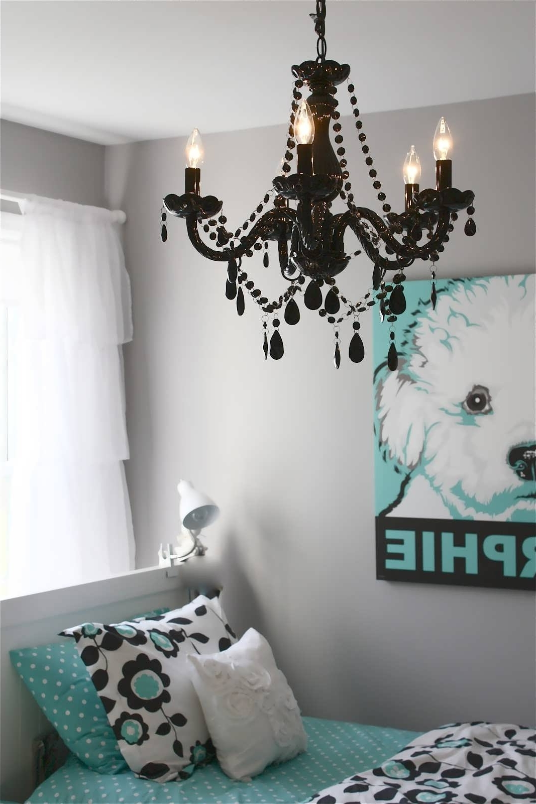 Turquoise Bedroom Chandeliers Pertaining To 2019 Chandelier : Lindsey Adelman Lighting Childrens Bedroom Lamps (View 14 of 20)