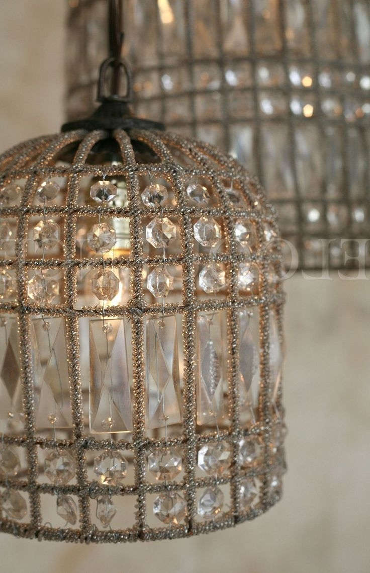 Turquoise Birdcage Chandeliers Throughout Fashionable Collection In Diy Birdcage Chandelier 1000 Ideas About Birdcage (View 10 of 20)