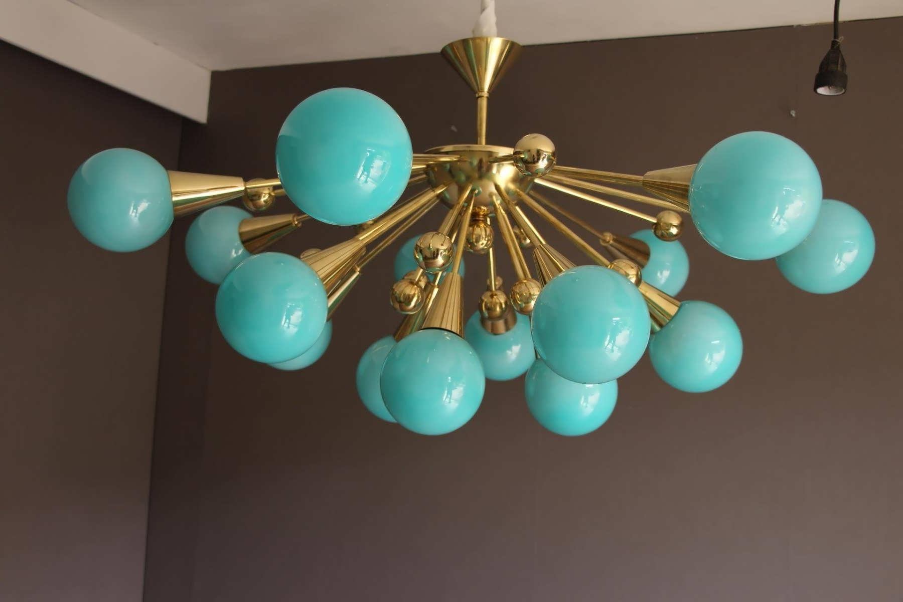 Turquoise Birdcage Chandeliers Within Well Known Chandelier : Linear Chandelier Birdcage Chandelier Flush Mount (View 15 of 20)