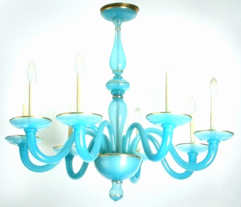 Turquoise Blue Glass Chandelier – Chandelier Designs Pertaining To Well Known Turquoise Blue Glass Chandeliers (View 5 of 20)
