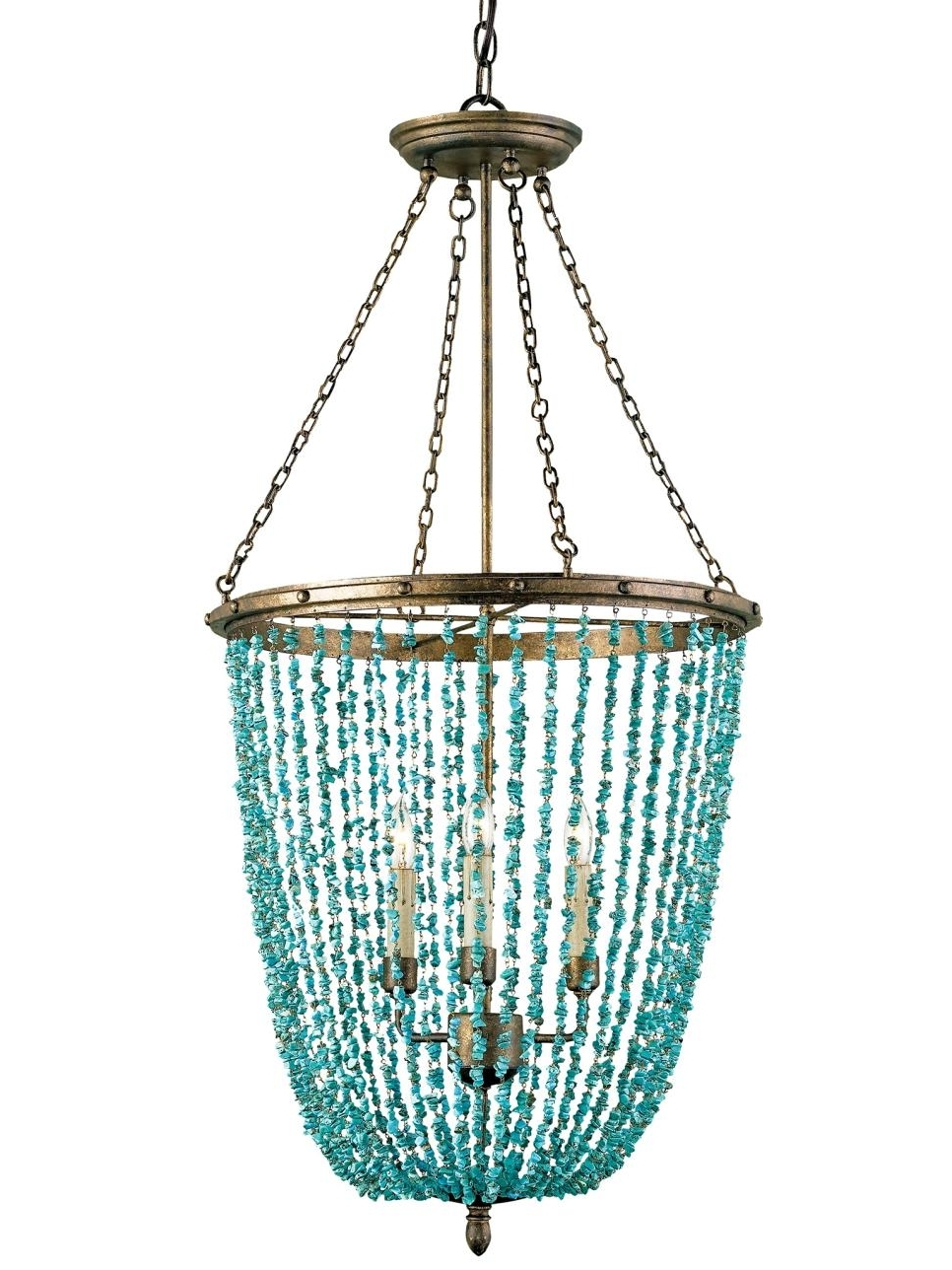 Turquoise Chandelier (View 12 of 20)