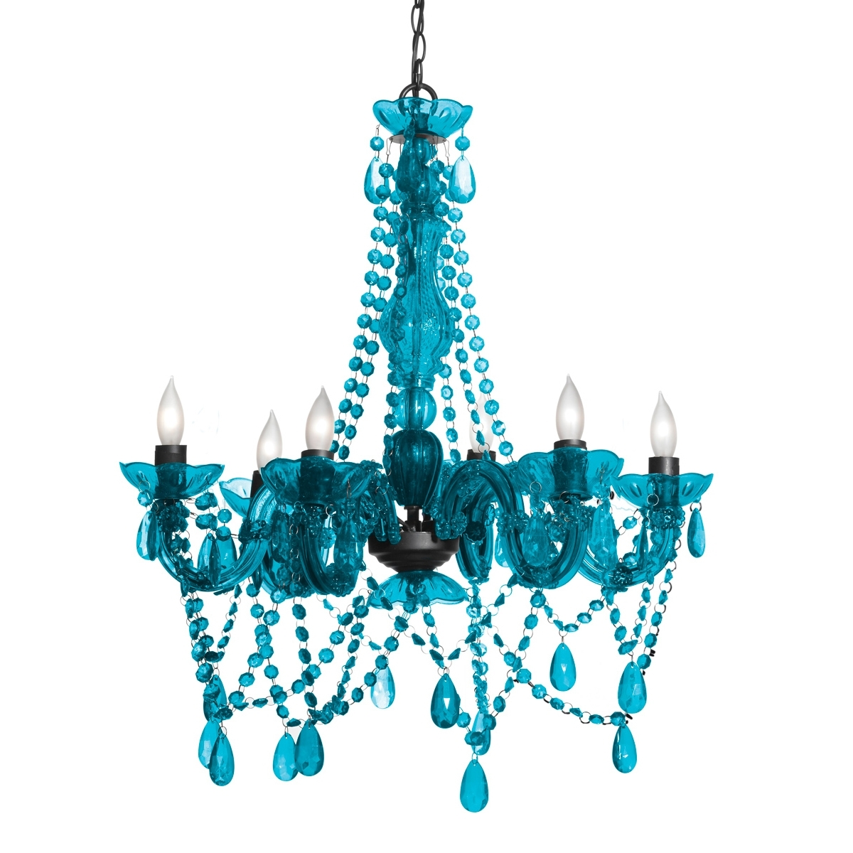 Turquoise Color Chandelier With 2018 Turquoise Chandelier Lights (View 15 of 20)
